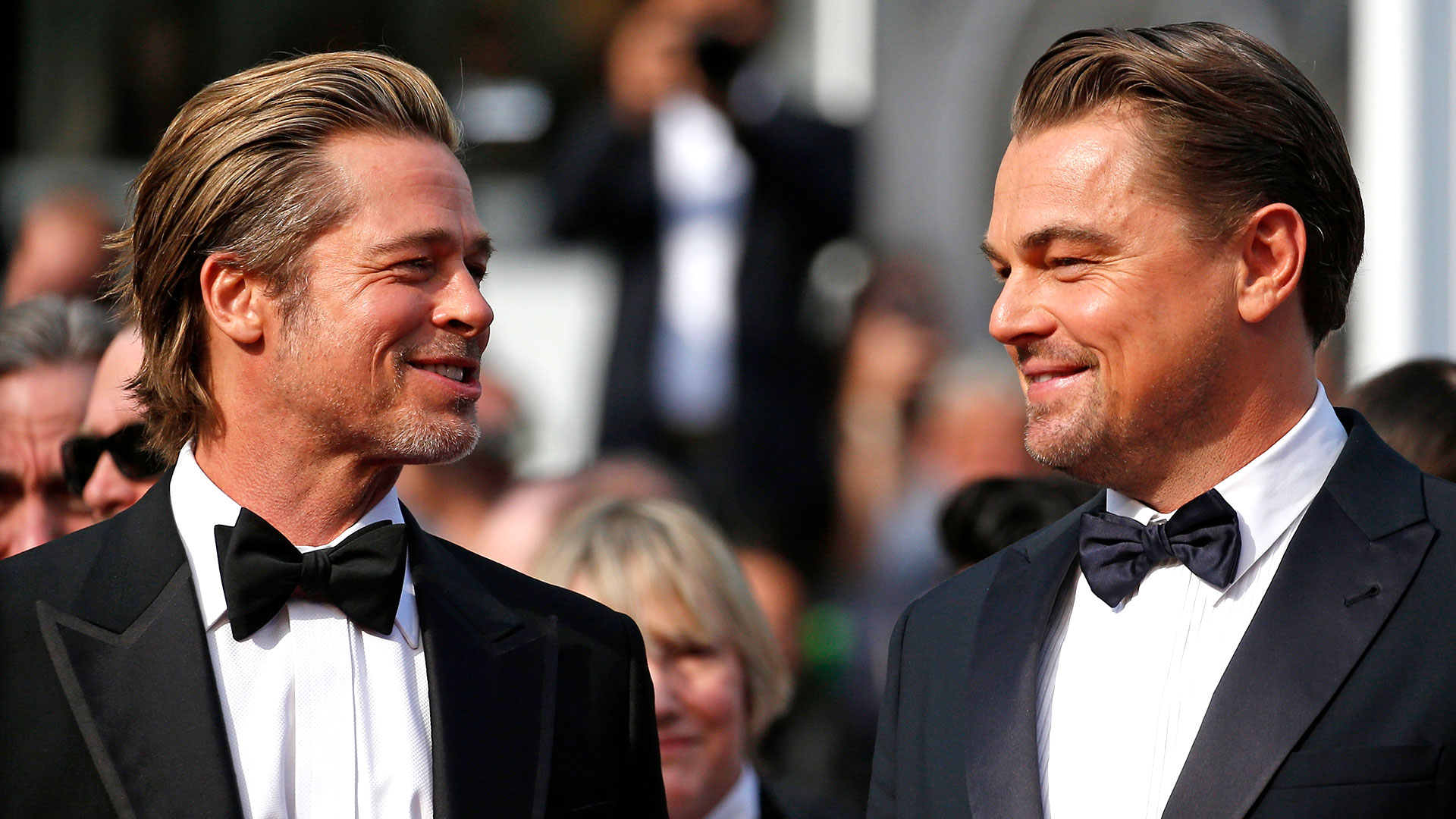 Brad Pitt y Leonardo DiCaprio se robaron todas las miradas en la nueva edición de Cannes