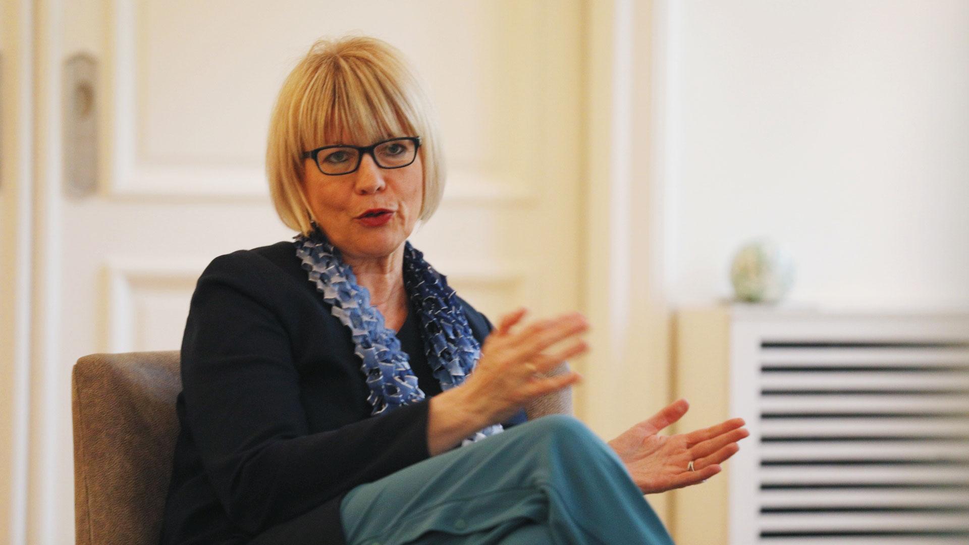 Helga Schmid, Secretari General del Servicio Europeo de Acción Exterior en la Unión Europea