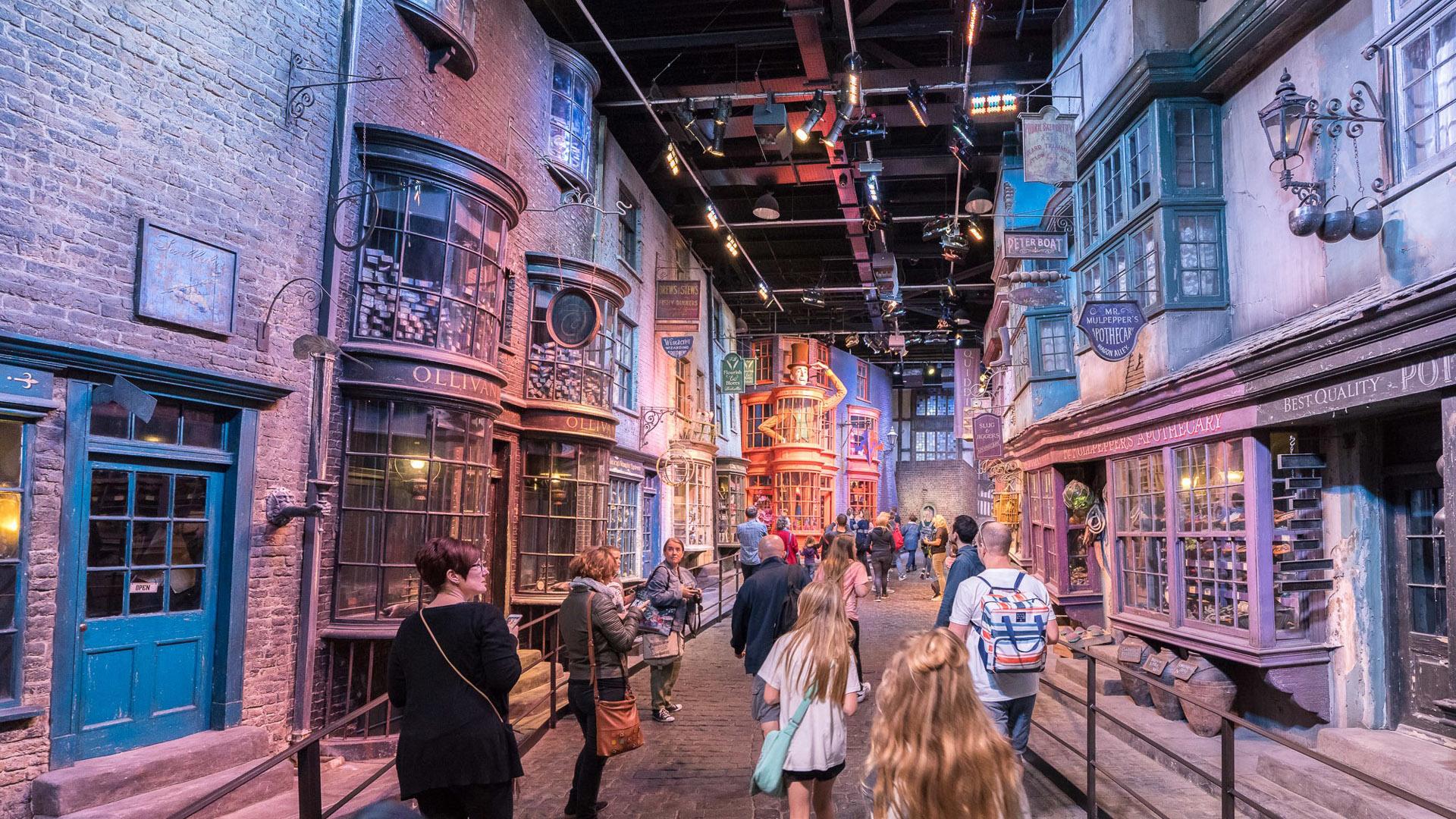 Durante el tour se puede visitar el mundo mágico de Harry Potter