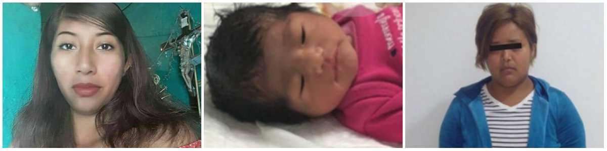 68ce57176 La bebé de Jenni Judith (izquierda) sobrevivió y posteriormente la  encontraron sana y salva