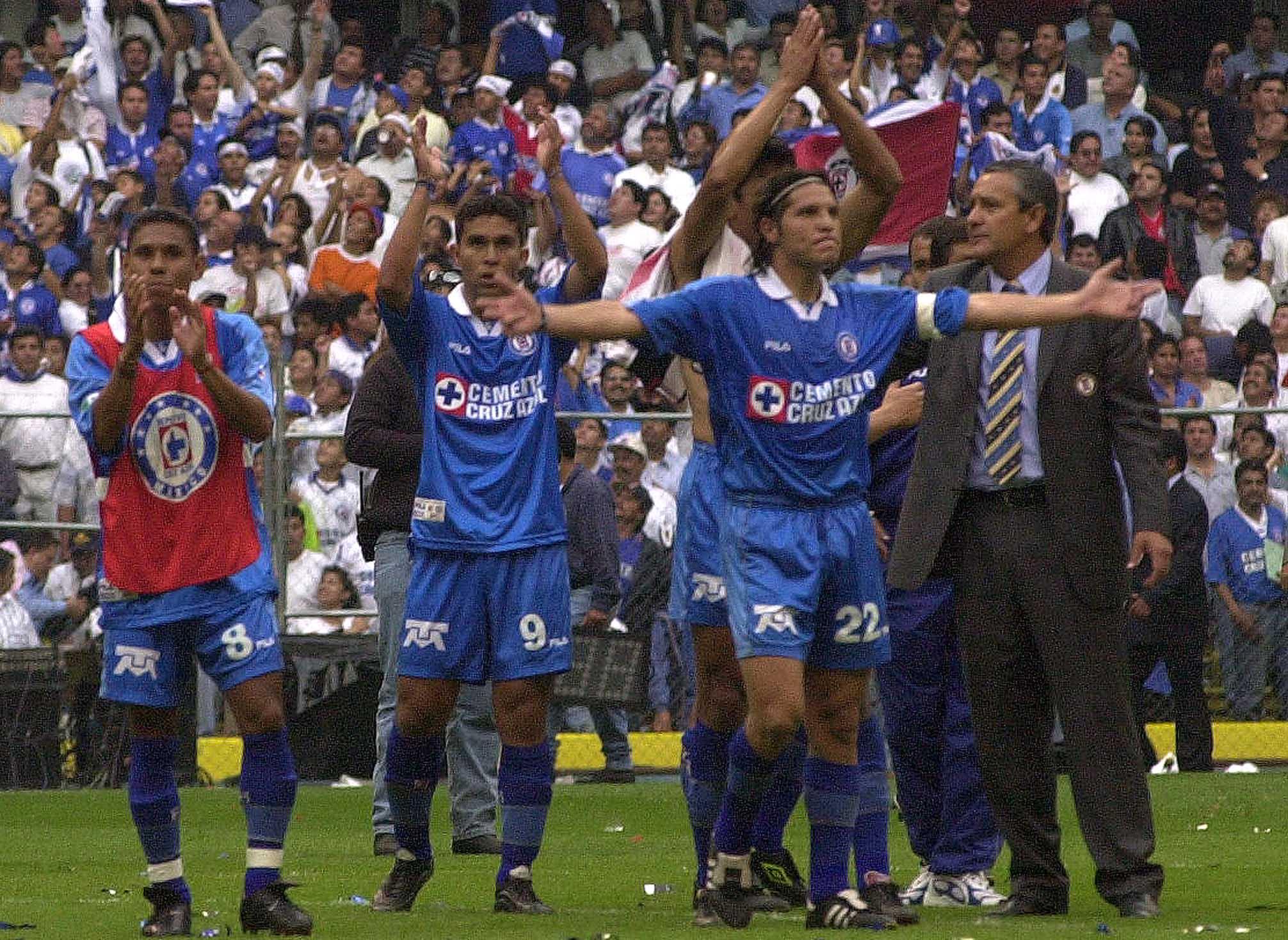 Cruz Azul llegó a la final de la edición 2001 de la Libertadores, pero perdió ante Boca Juniors (Foto: Christian Palma/ Cuartoscuro)