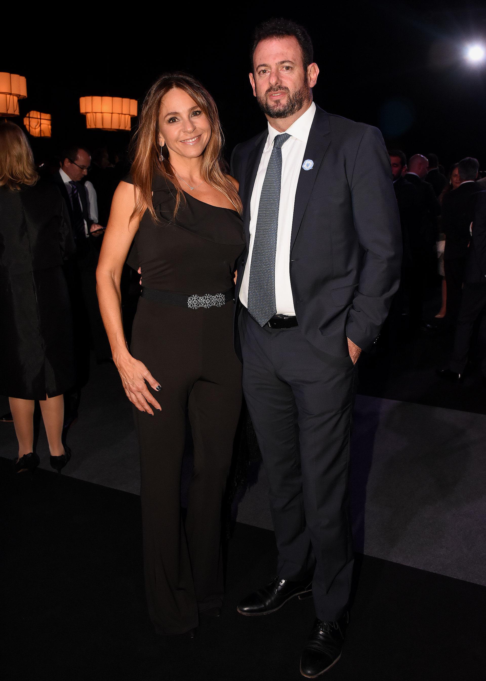 El dirigente industrial, José Urtubey, y su mujer Soledad