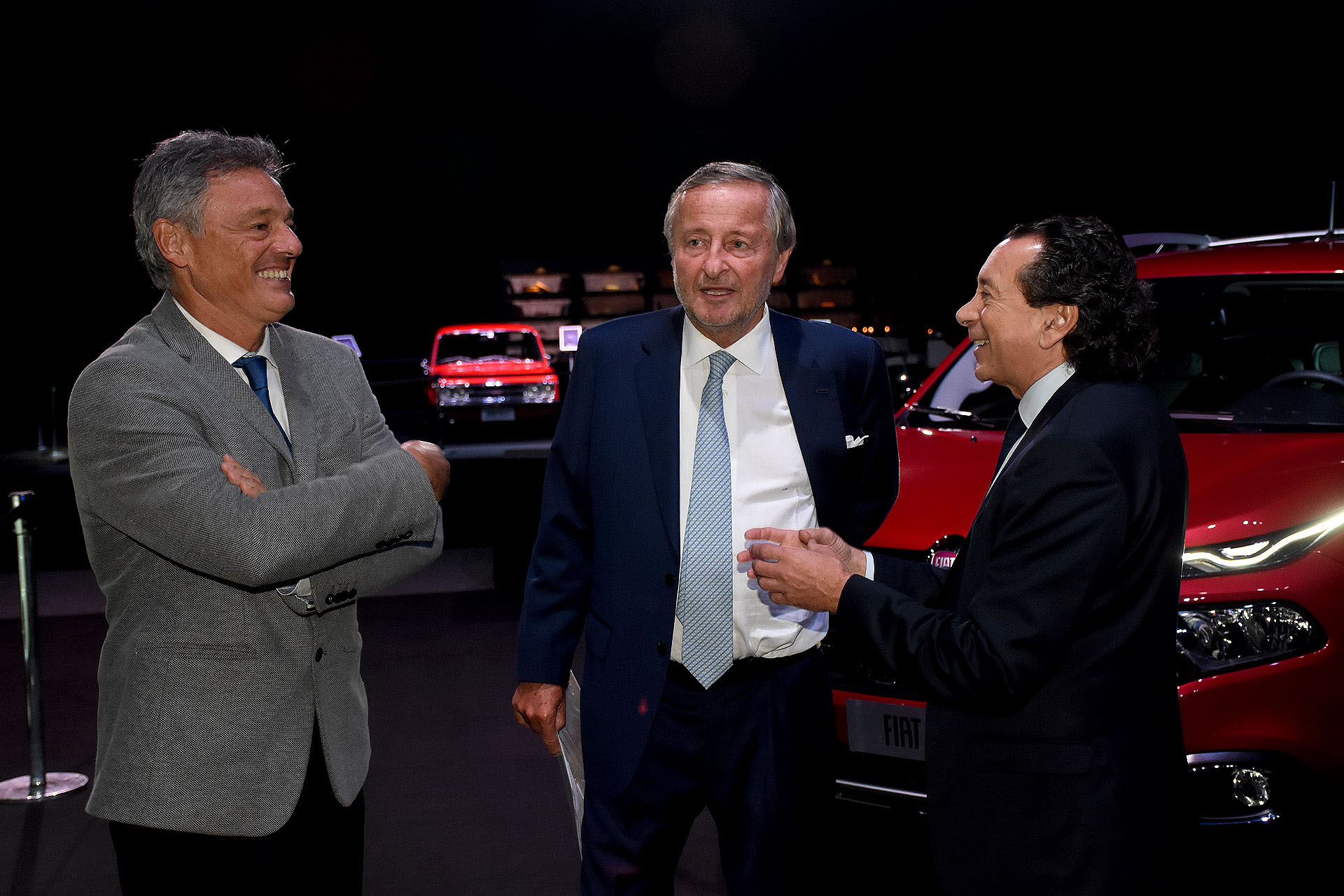 Francisco Cabrera, Cristiano Rattazzi y Dante Sica