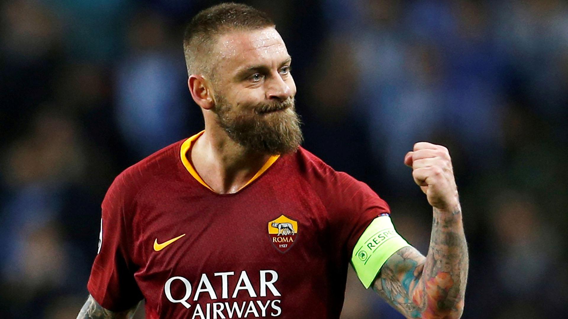 Daniele De Rossi se despedirá este domingo de Roma en un enfrentamiento ante Parma