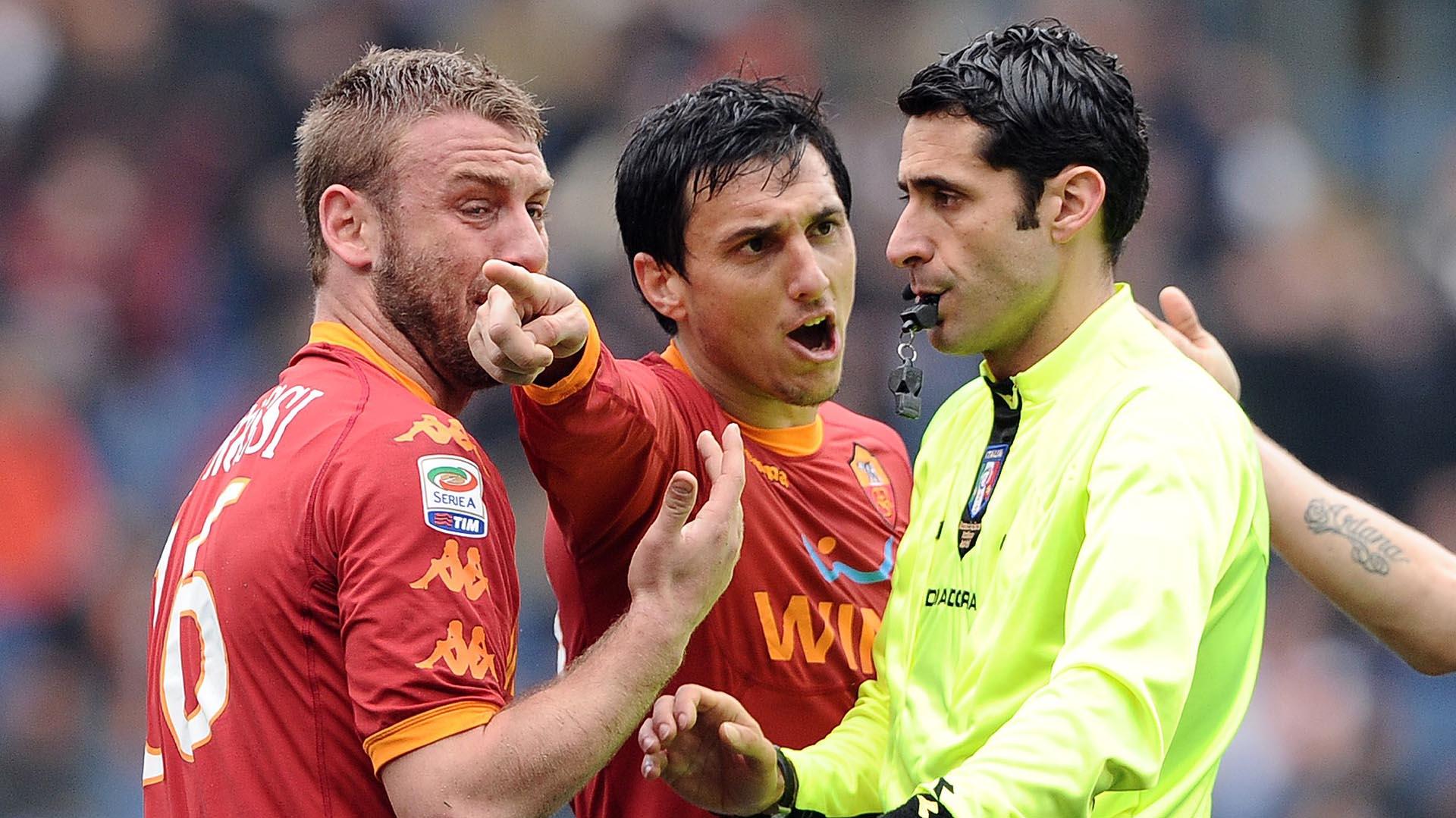 Nicolas Burdisso y Daniele De Rossi crearon un gran vínculo cuando se conocieron en Roma
