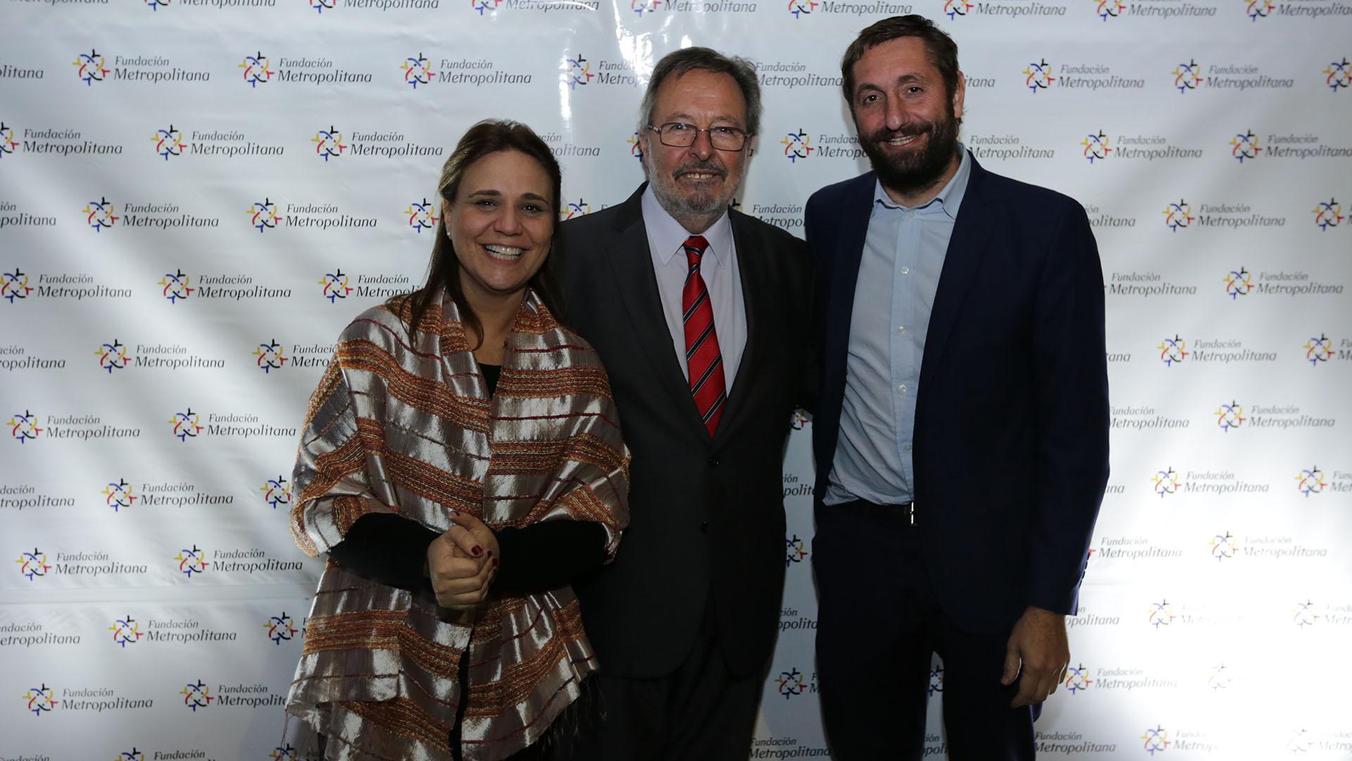 Gabriela Agosto, secretaria ejecutiva del Consejo Nacional de Políticas Sociales, y Fernando Álvarez de Célis, subsecretario de Planificación Territorial