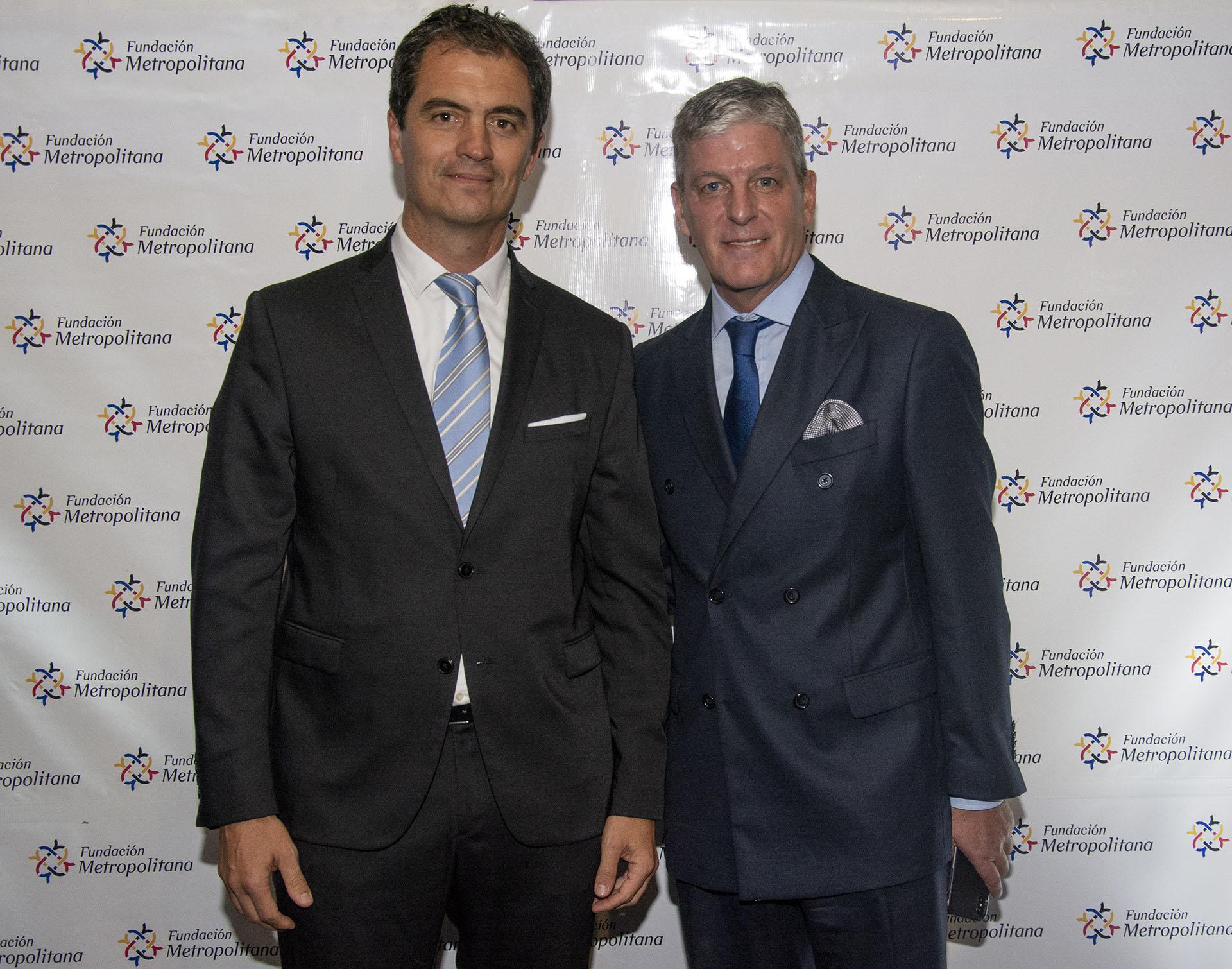 Santiago Rossi, gerente de Relaciones Institucionales del Grupo Provincia, y Orlando Molaro, MPR Comunicación