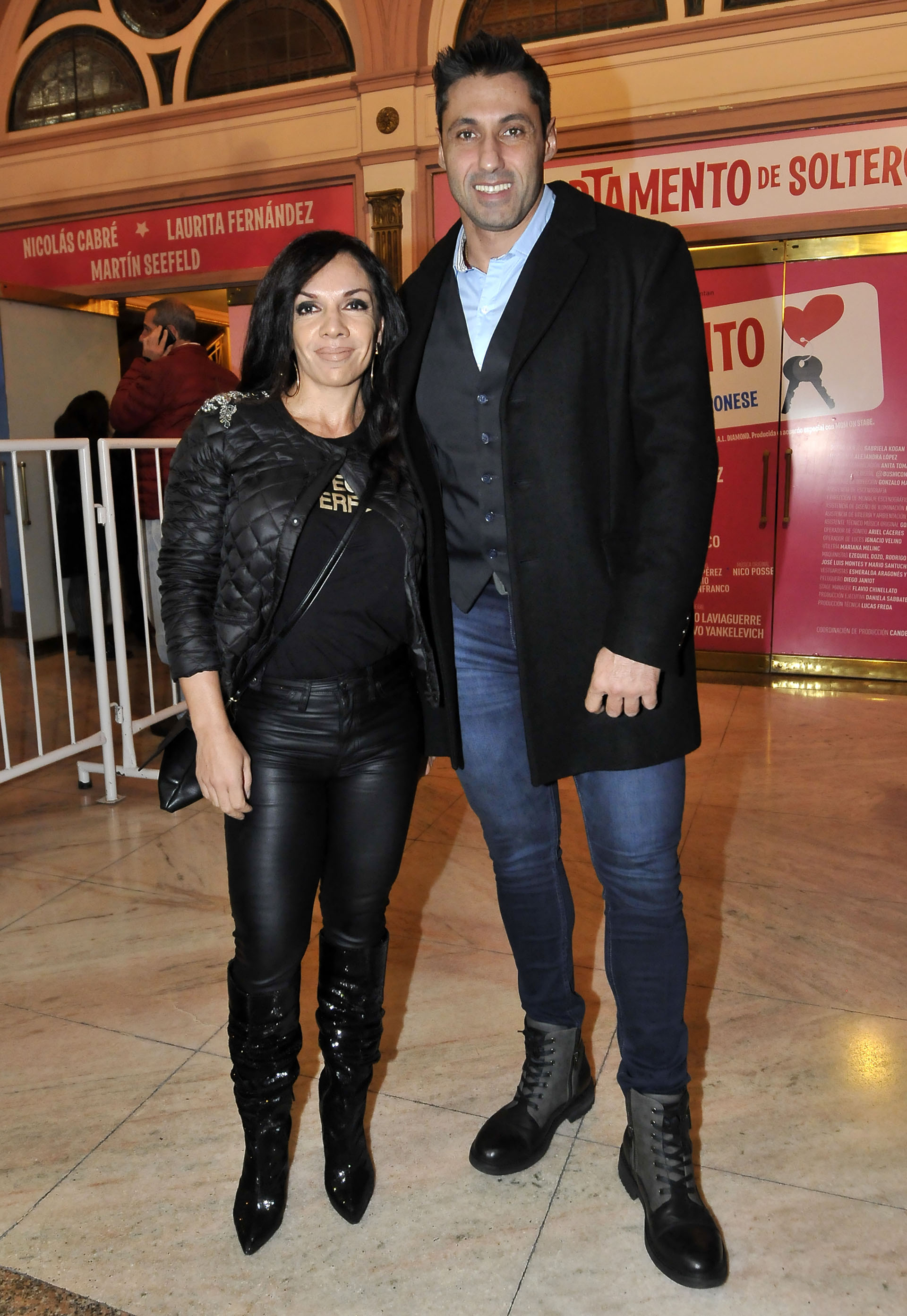 Marcela Villagra y Tito Speranza