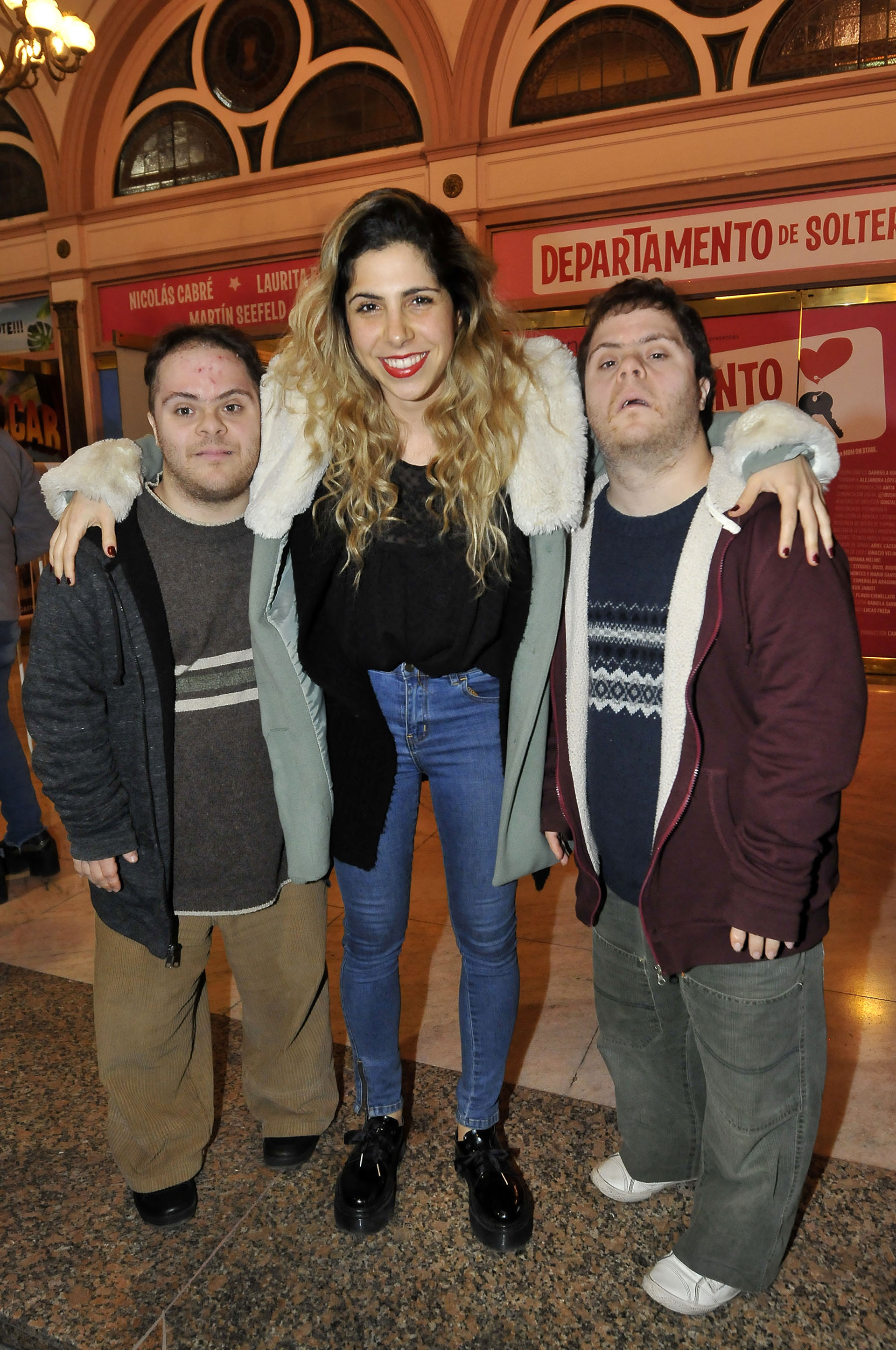 Tamara Garzón y sus hermanos Juan y Mariano