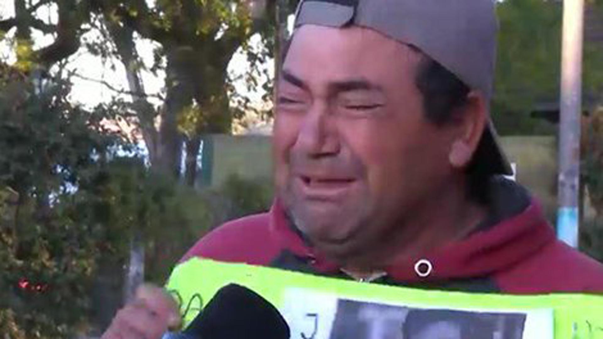 """""""Los acribillaron, nos destrozaron"""", dijo el padre de Danilo Sansone"""