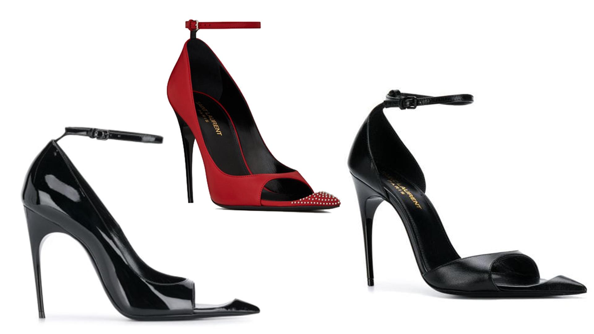 Las distintas versiones de las sandalias.