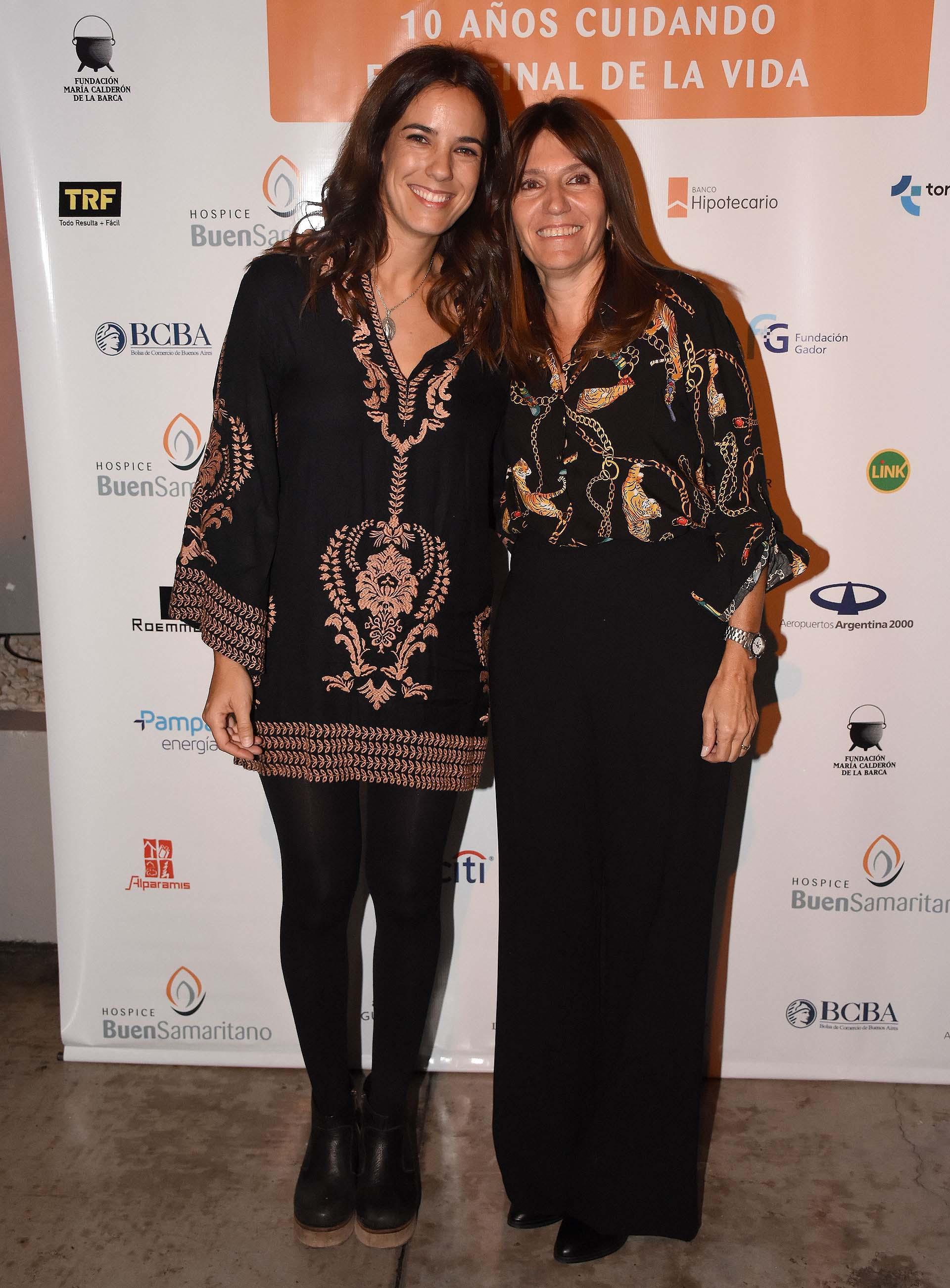 Sofi Miguens y Poli Menéndez de Pastoral del Hospice