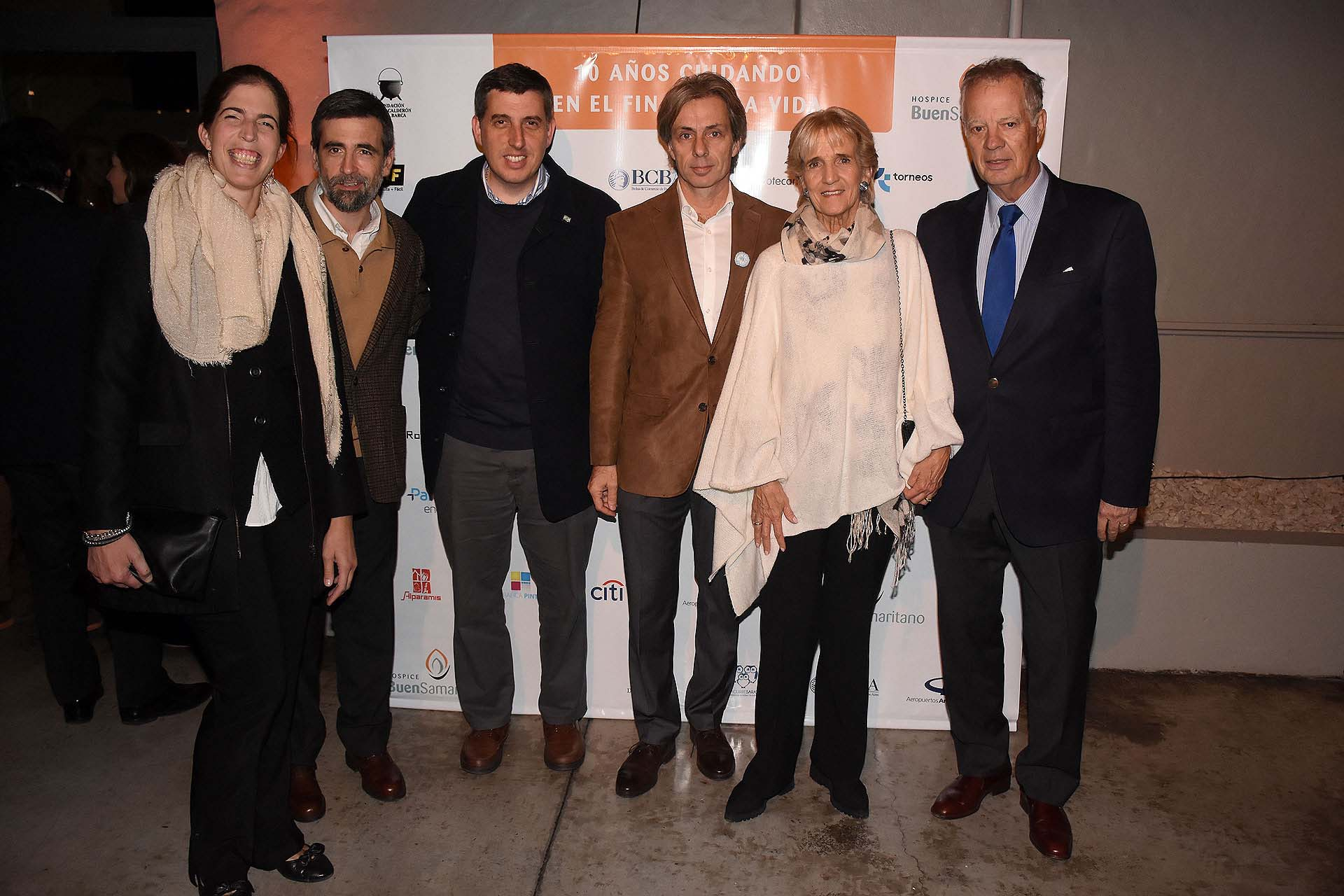 Ana Ramos Mejía, Lopardo Guzmán, Juan Manuel Llapur, María Eugenia Goletti y Miguel Altgelt