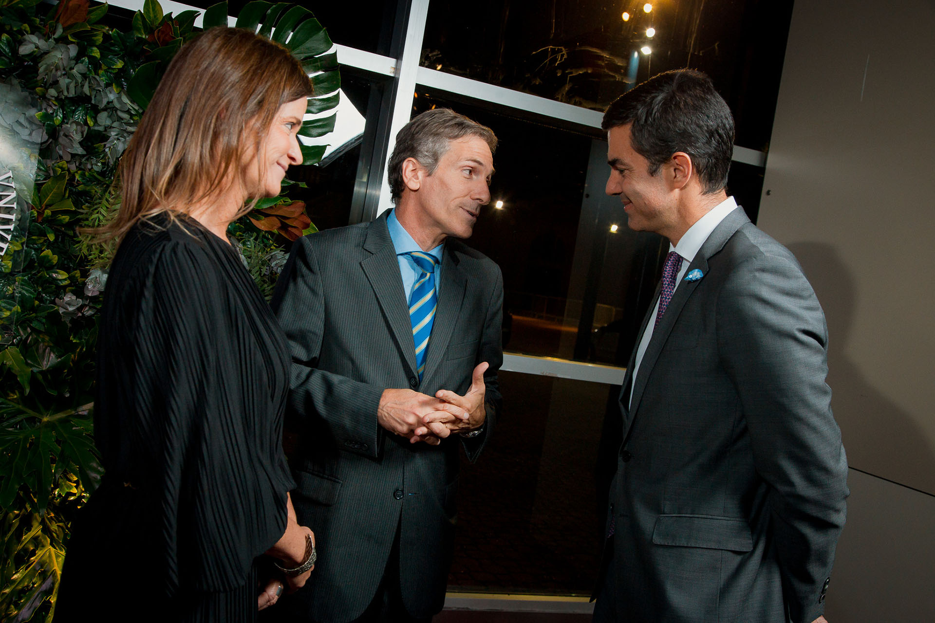 Laura Blaquier, Julián Rodríguez y Juan Manuel Urtubey