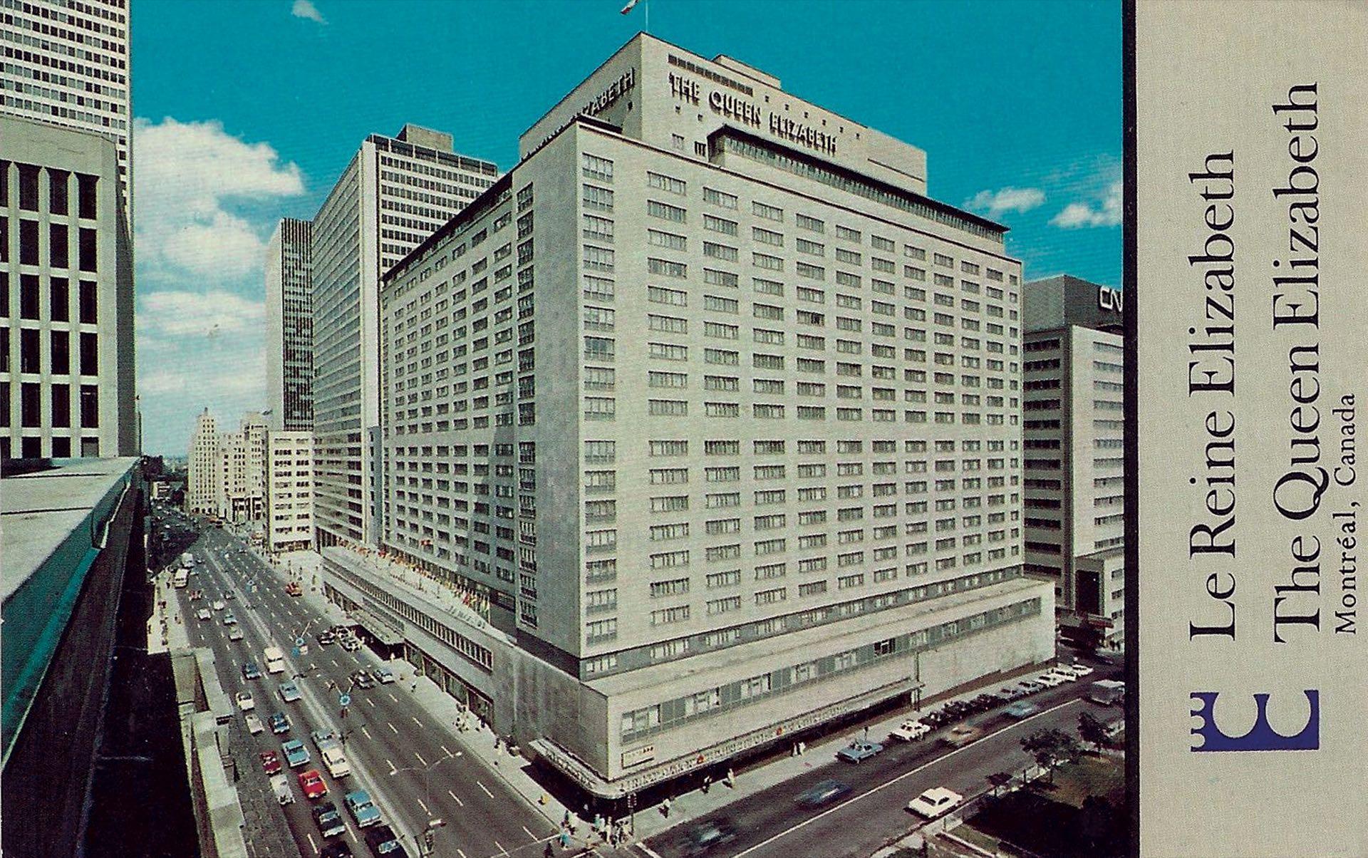 Pasaron la semana en la parte superior -piso 17- del edificio erigido en el 900 de René-Lévesque Boulevard W, Montreal, Quebec. Este cinco estrellas en la actualidad pertenece a la cadena Fairmont.