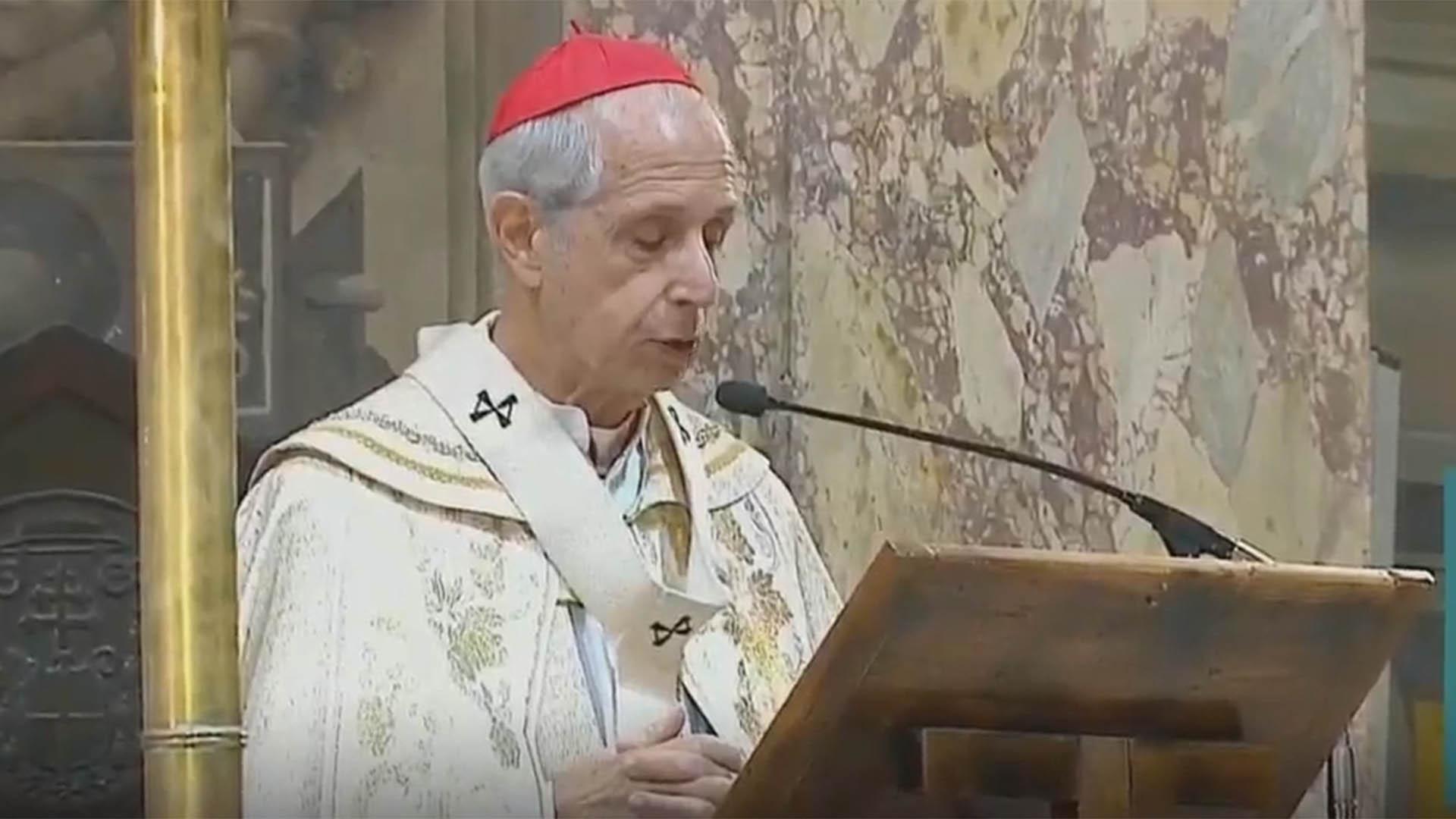 El cardenal Mario Poli presidió la misa del Tedeum por el 25 de Mayo