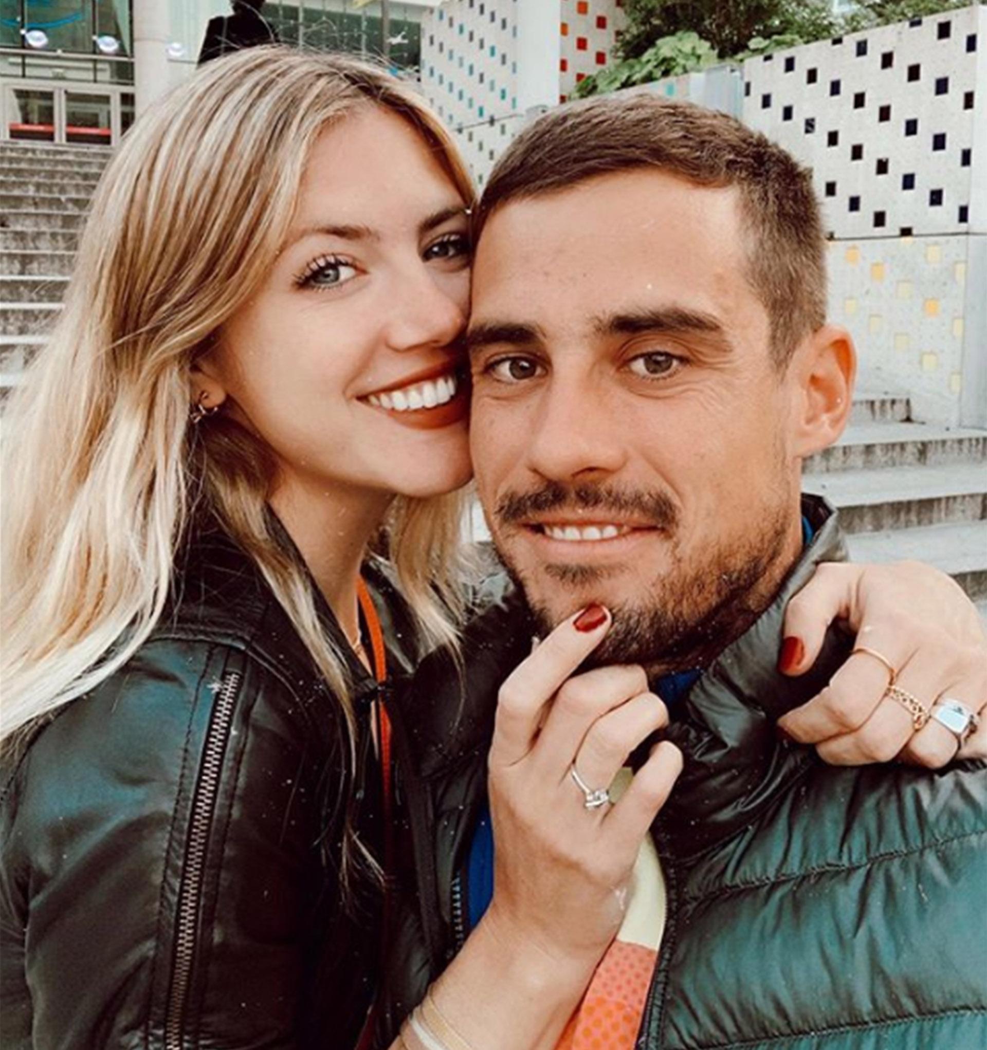 ¡Stephanie Denme se casa! La modelo anunció su boda con el tenista Guido Pella a través de las redes sociales. Se comprometieron en París. Soñado (Foto: Instagram)