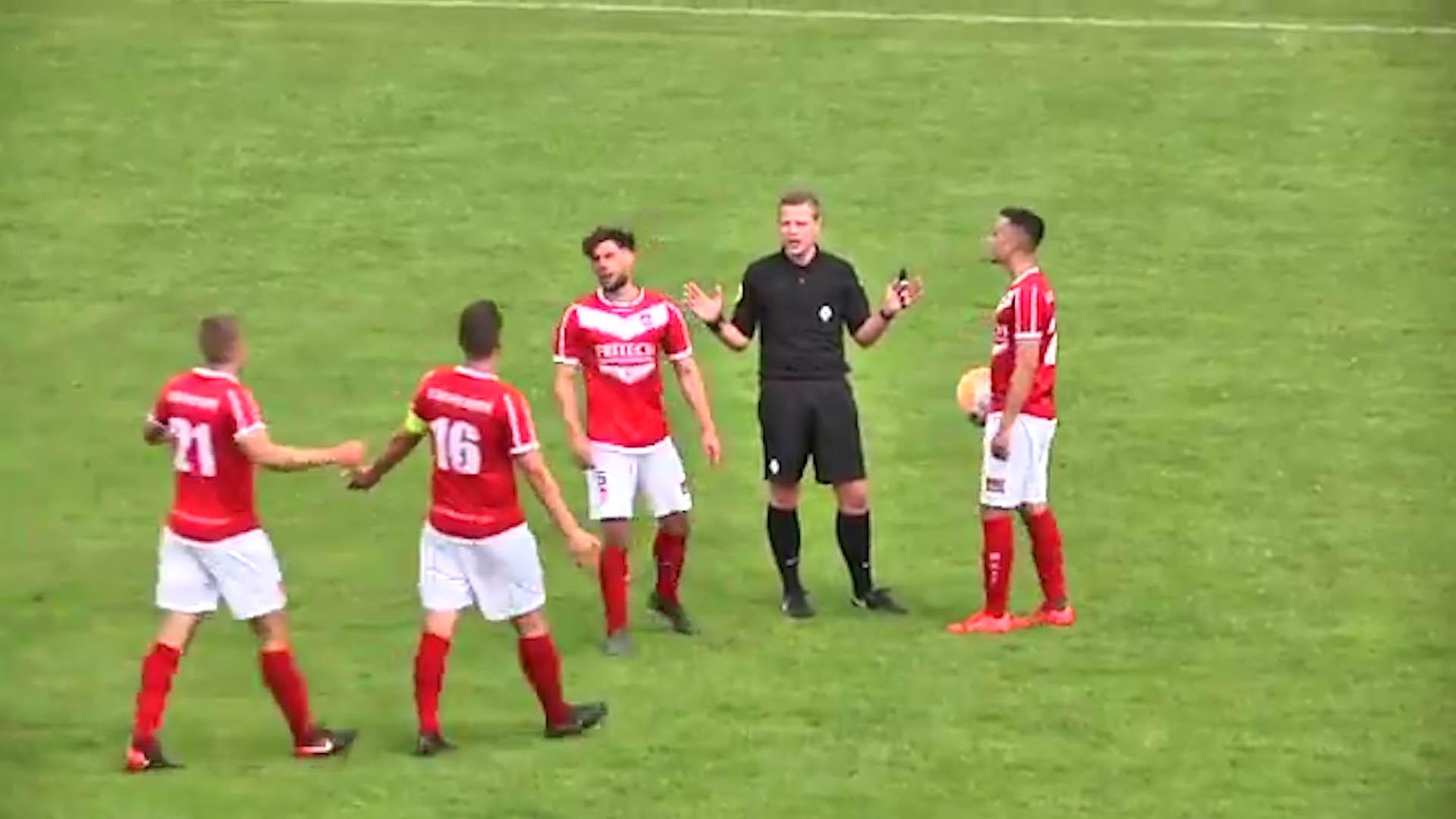 Resultado de imagen para arbitro gol holanda
