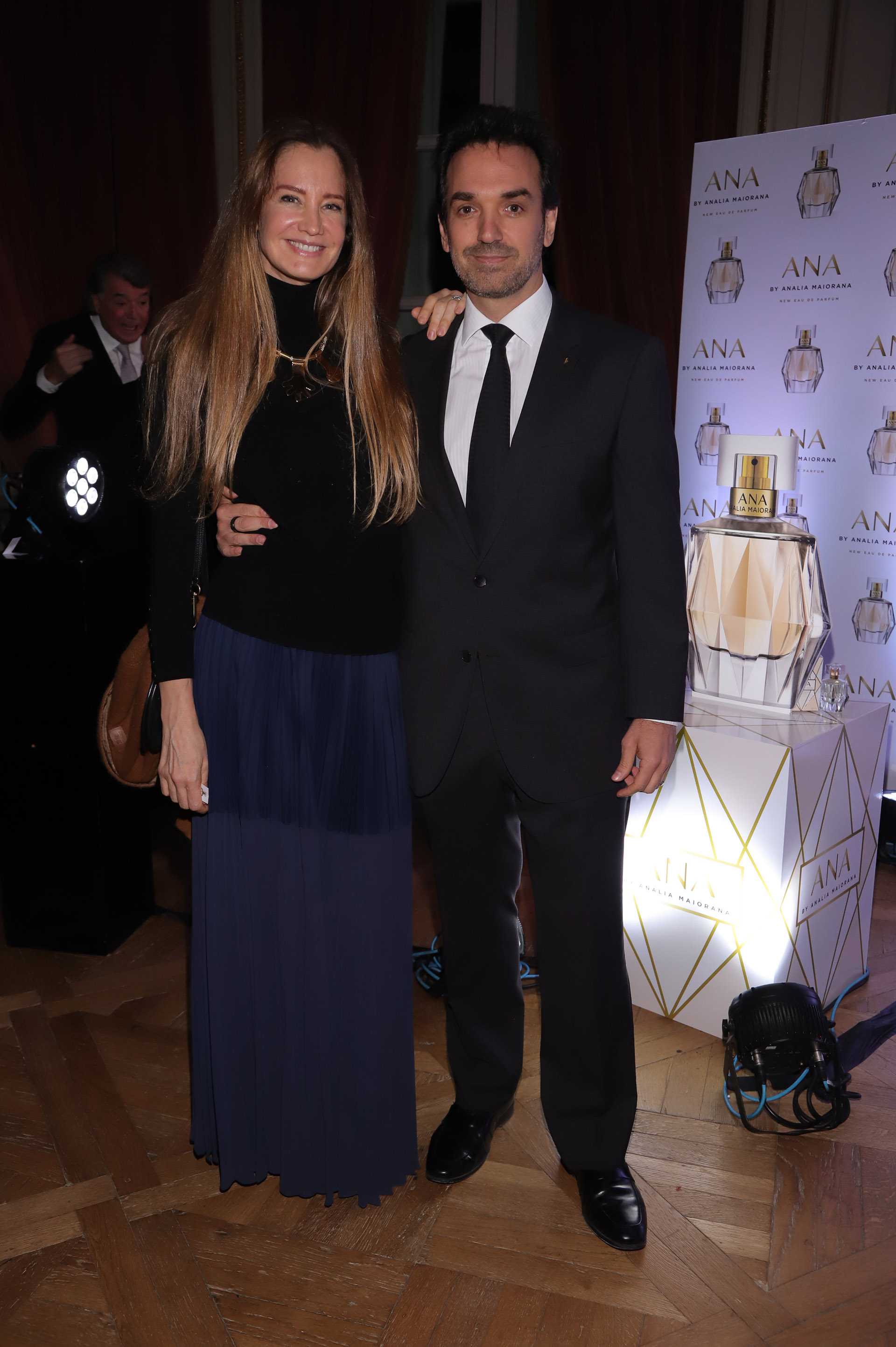 Roxana Zarecki y Sebastián Bagó