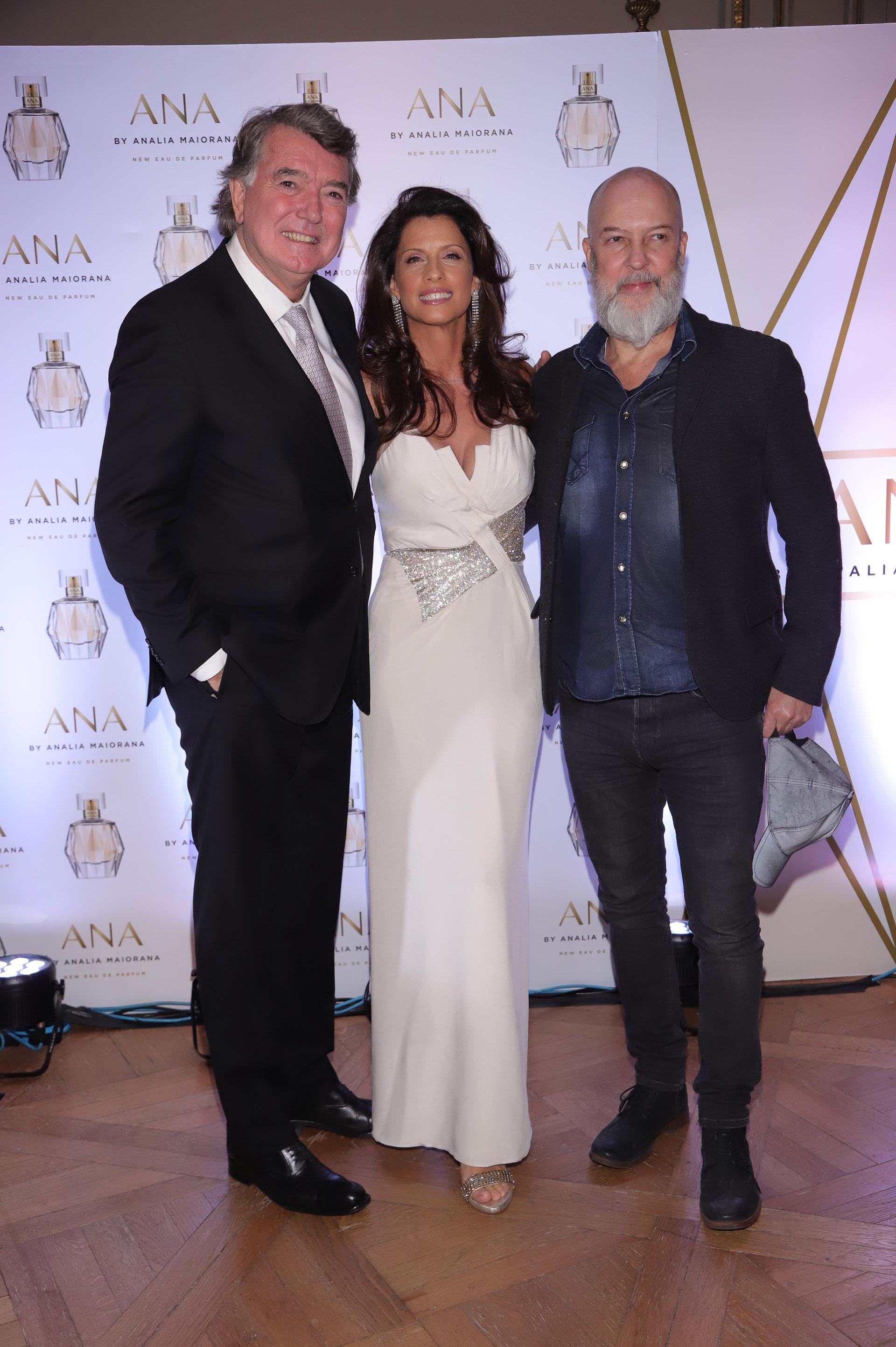 Pancho Dotto, Analía Maiorana y el fotógrafo Gabriel Rocca