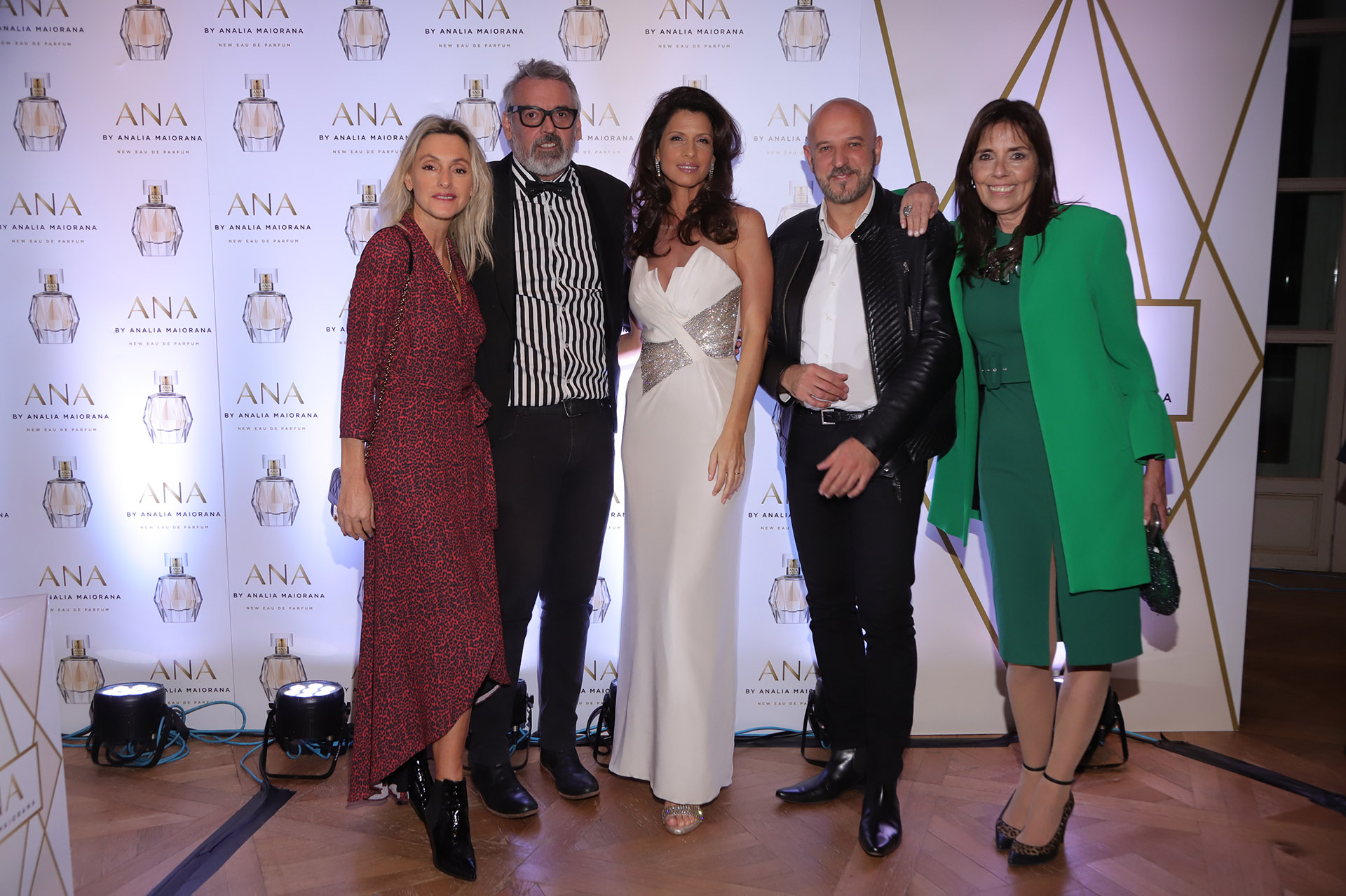 Cynthia Kern, Benito Fernández, Analía Maiorana, Fabián Zitta y Claudia Pandolfo