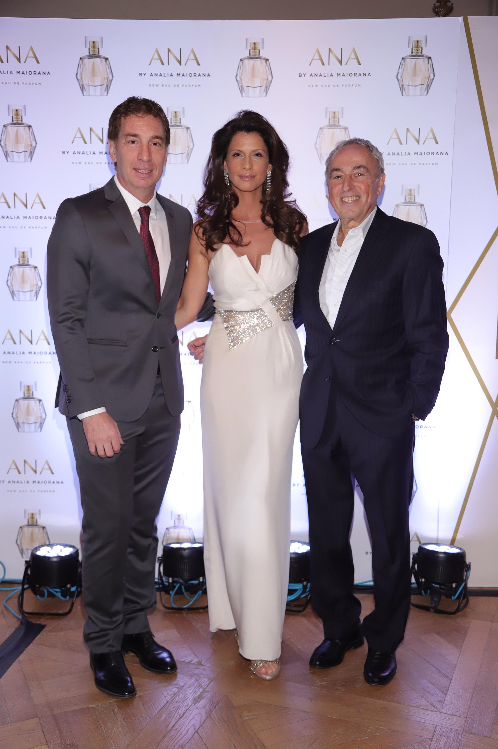 Diego Santilli, Analía Maiorana e Israel Sutton