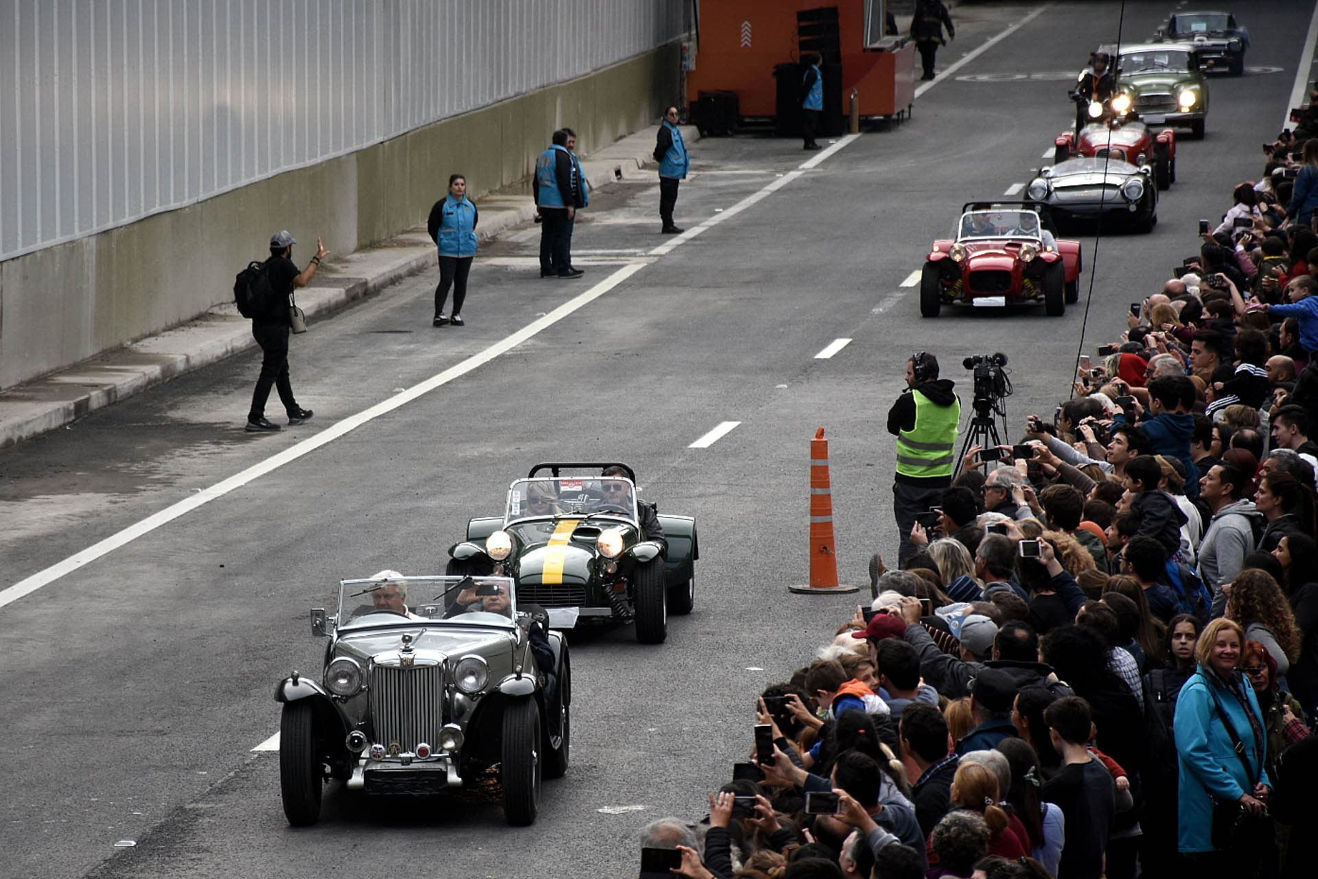 Agentes de Tránsito porteño coordinaron la circulación del desfile