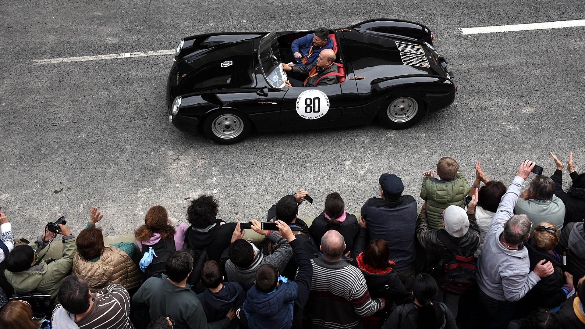 Doble experiencia: conductores y públicos disfrutaron del evento por igual