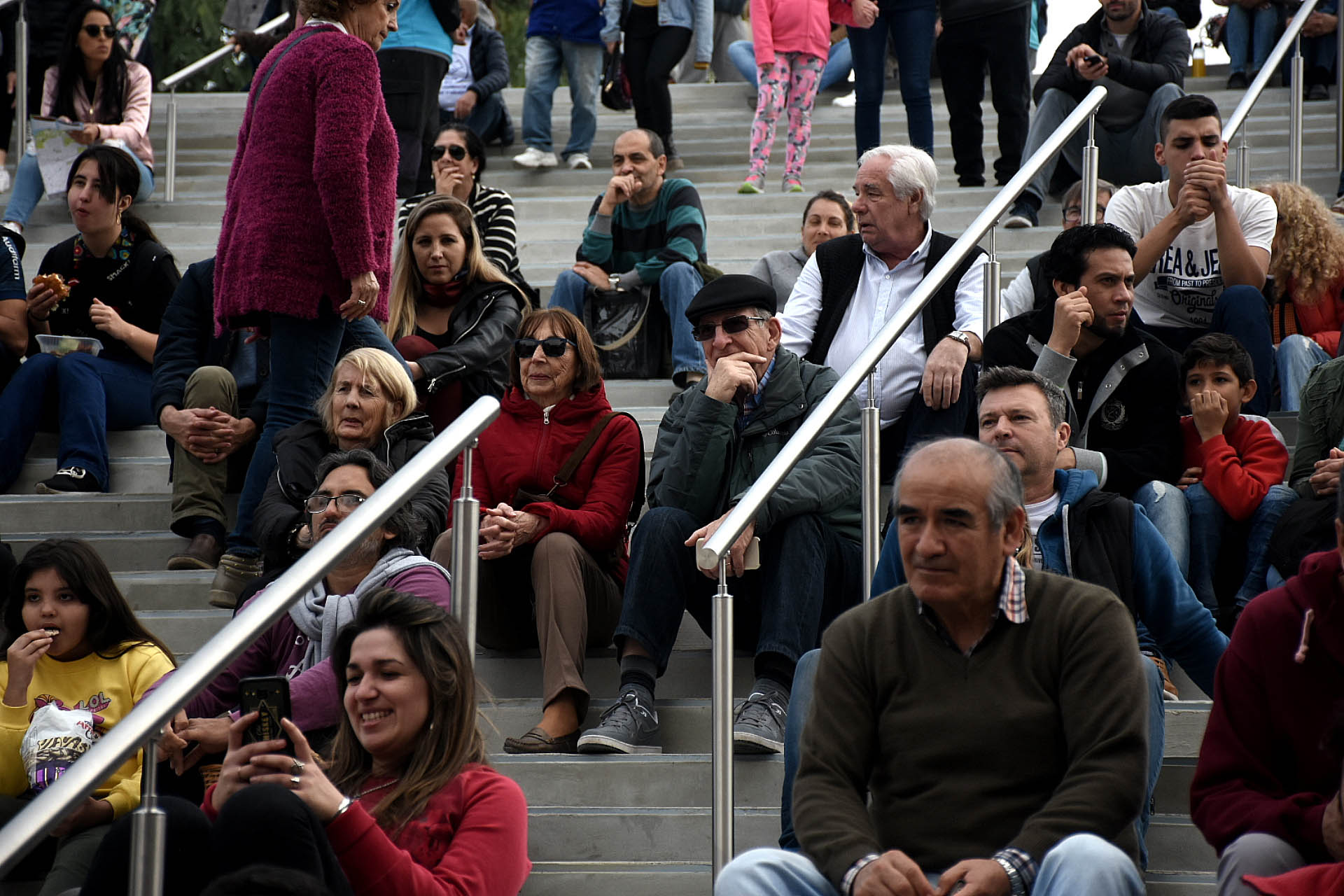 El evento juntó a un público de todas las edades en torno a las obras del nuevo Paseo del Bajo