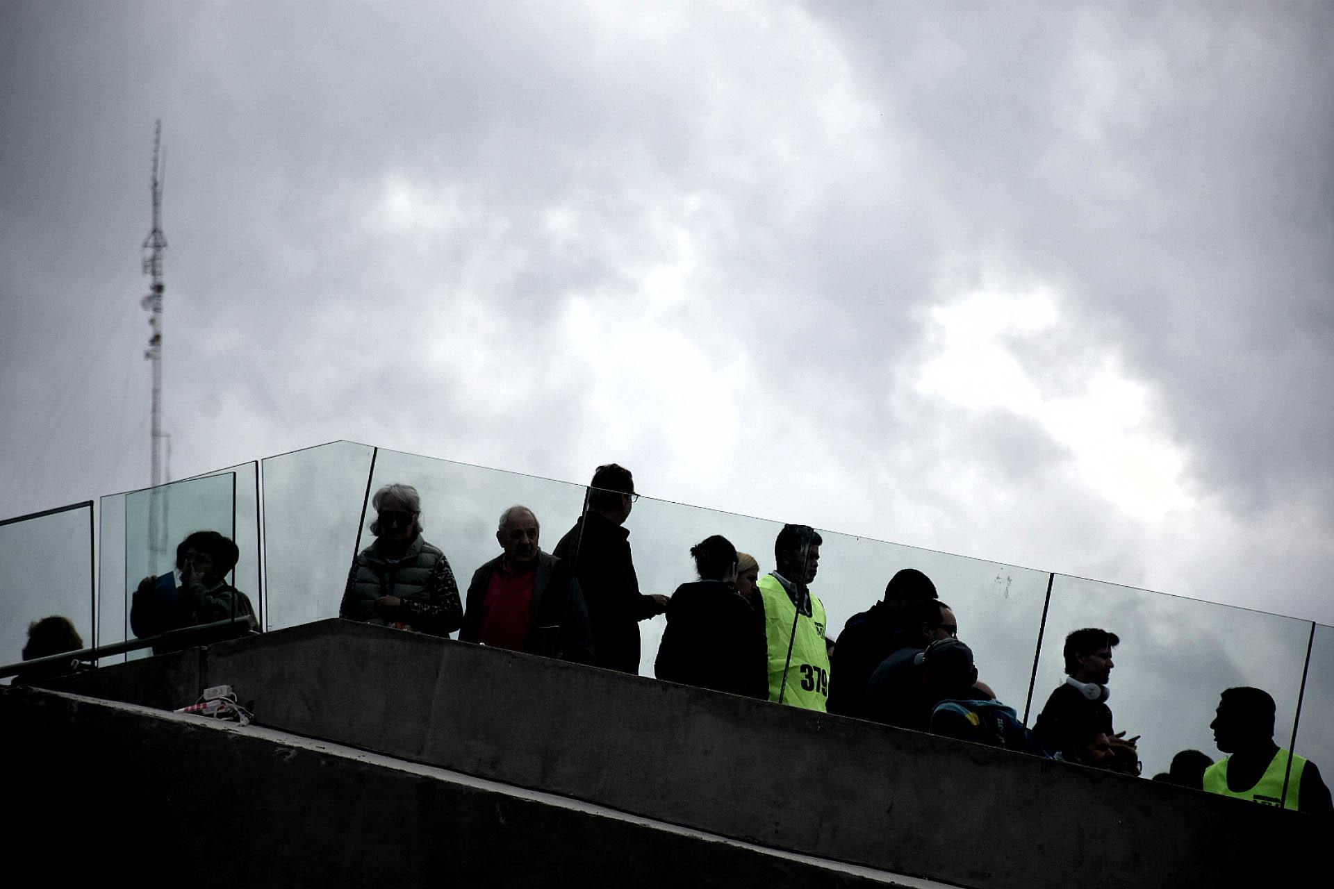 Distintos agentes de control estuvieron abocados a la seguridad del evento