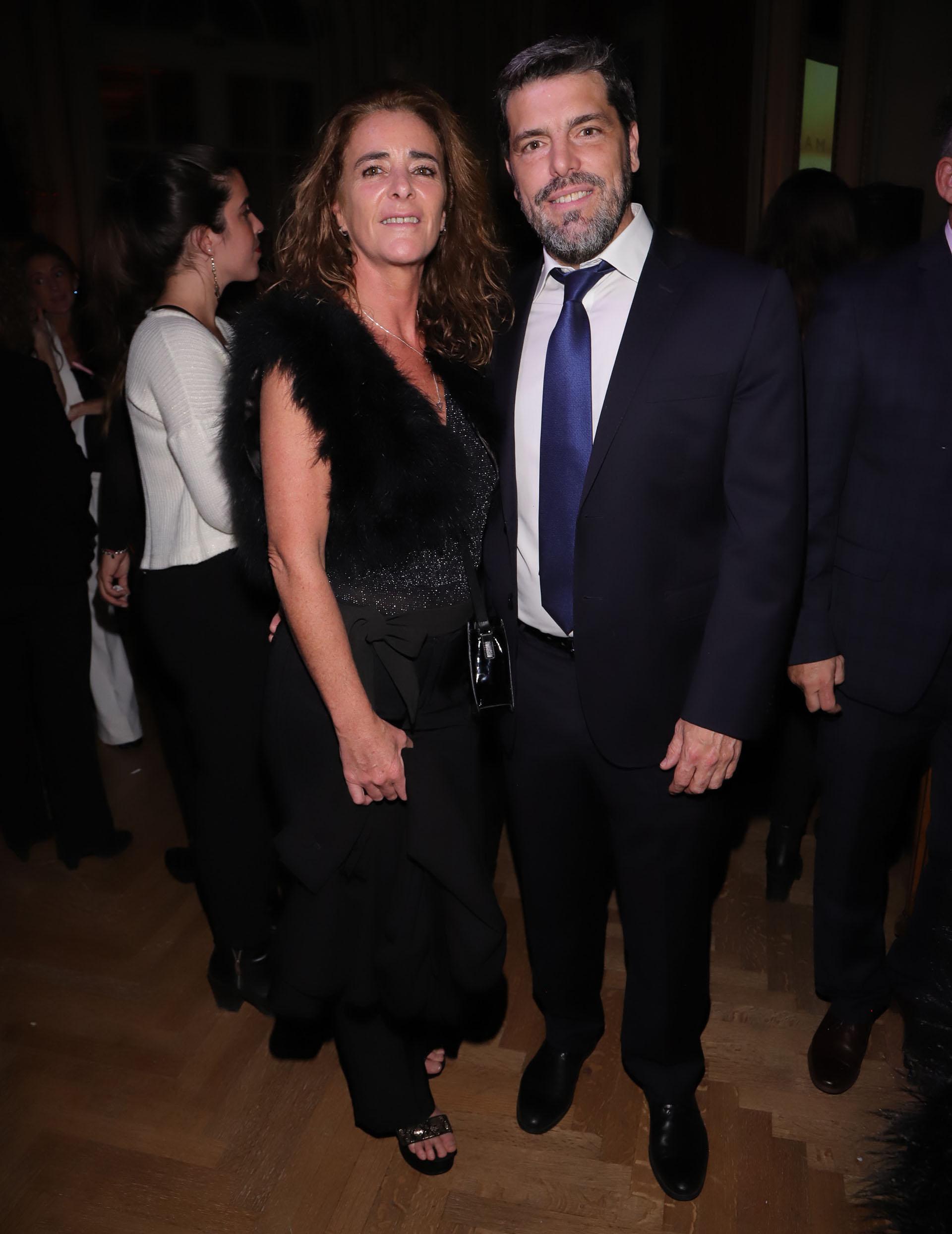 El secretario de Desarrollo Ciudadano, Matías López, y su mujer Analía