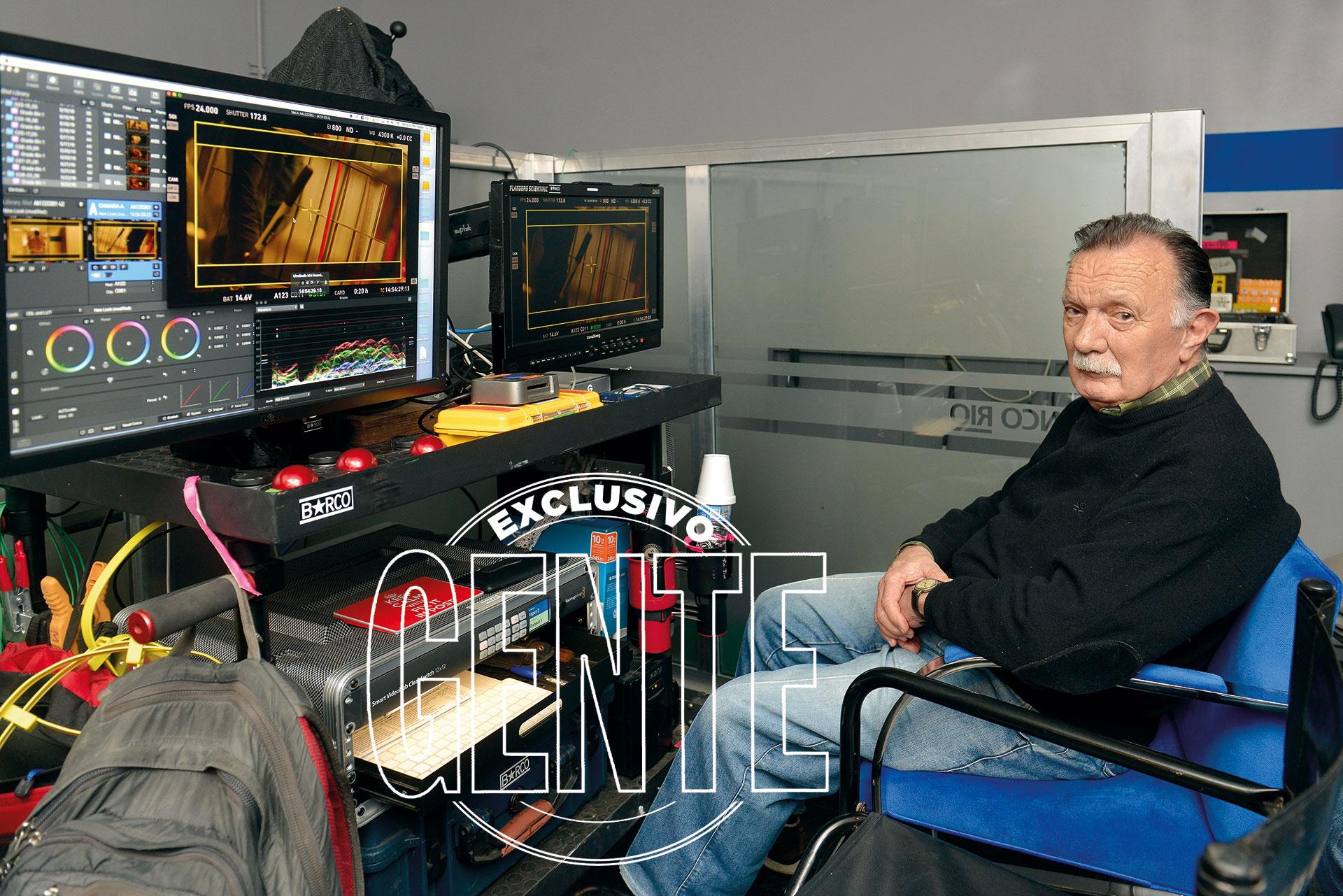 La dirección de fotografía recae en el legendario Félix Monti (81), quien formara parte del equipo de La historia oficial y El secreto de sus ojos, los dos largometrajes argentinos que obtuvieron el Oscar. El Chango, además es suegro de Juan José Campanella.