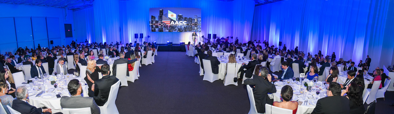 La cena esta vez se realizó en el JW Marriott Marquis de Miami