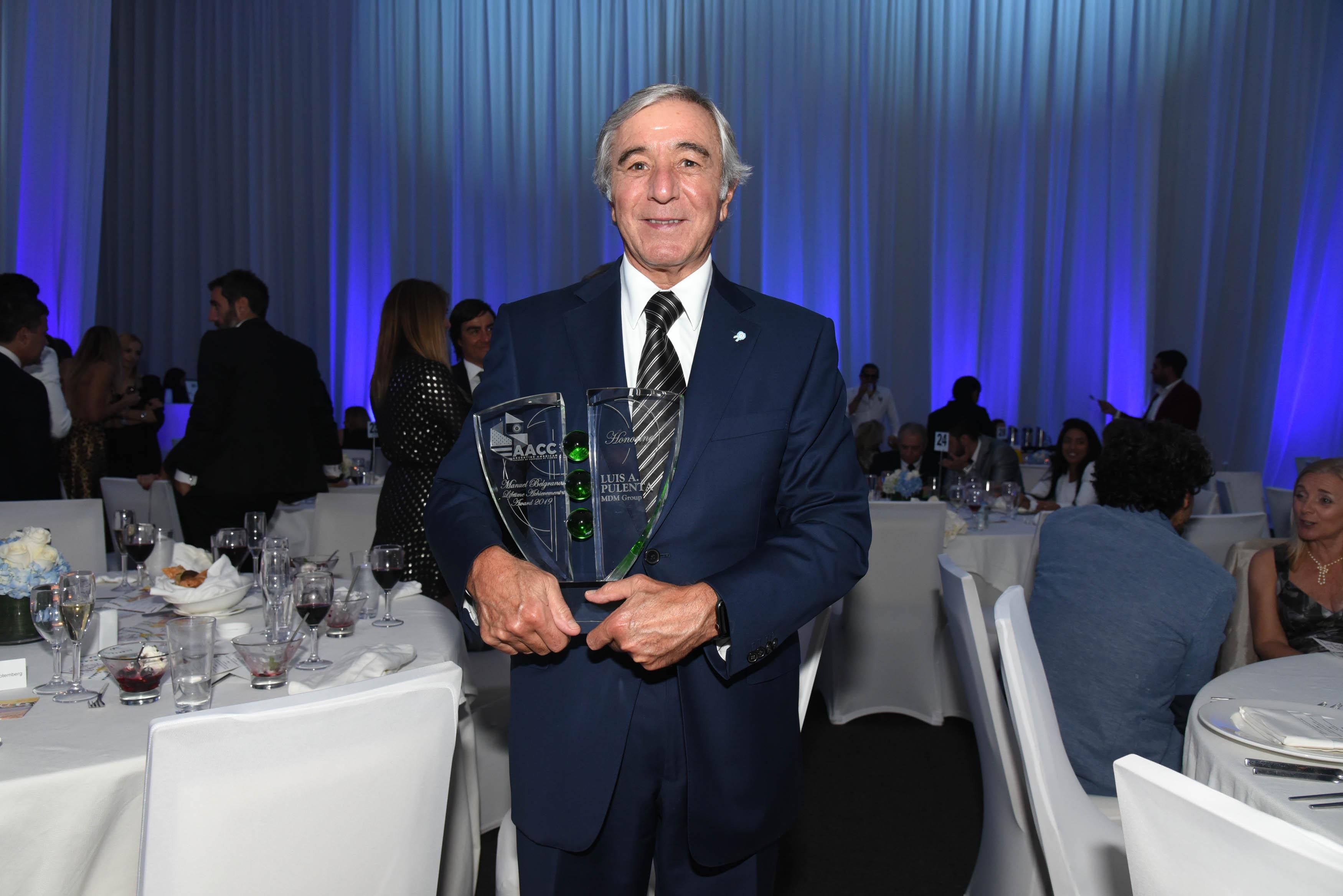 Luis Pulenta (MDM Group) ganador del Premio Manuel Belgrano a la Trayectoria