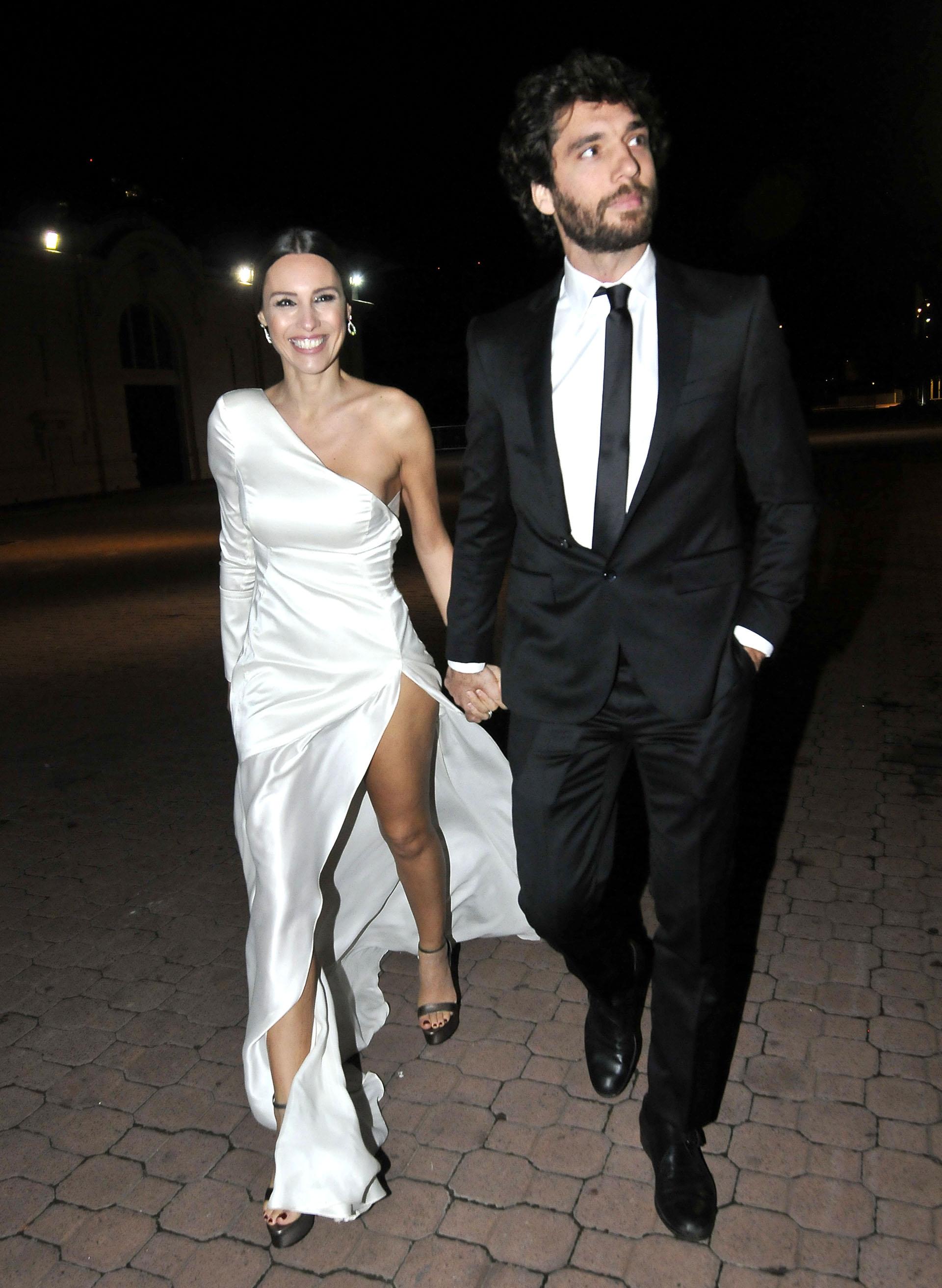Pampita asistió a la gala de la Fundación Huesped acompañada por su nuevo novio, Mariano Balcarce (Foto: Verónica Guerman / Teleshow)