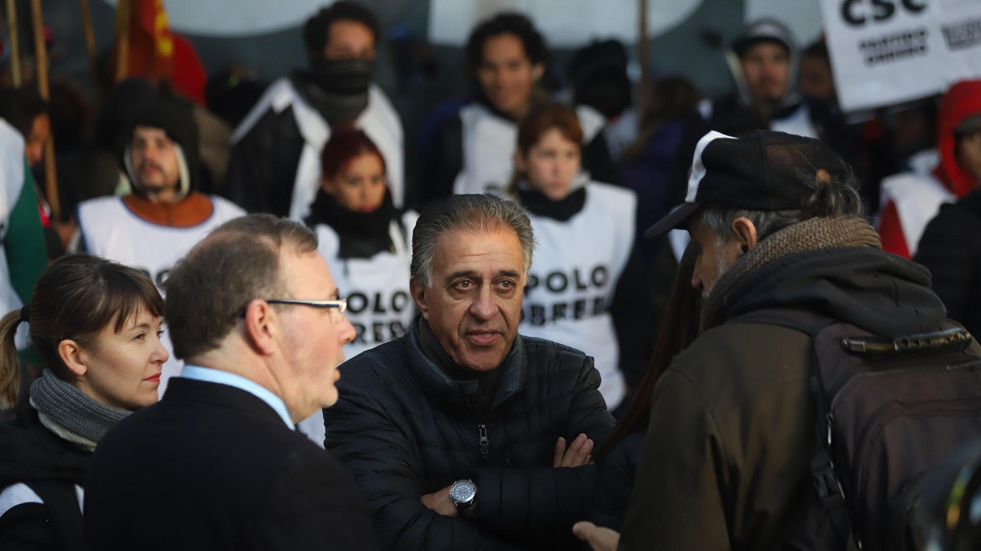 El dirigente del Partido Obrero en el Frente de izquierda, Néstor Pitrola