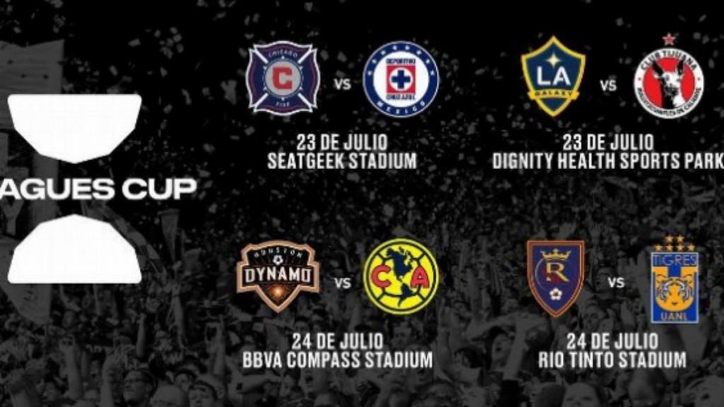 EL calendario de la primera ronda de la Leagues Cup (Foto: @LeaguesCup)