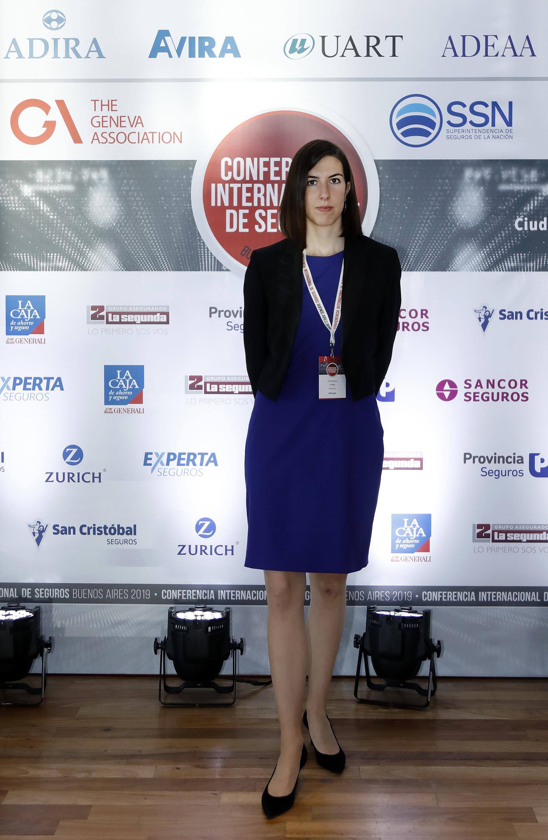 Francesca Tamma, Behavioral Research Consultant (VP) de Swiss Re (Suiza)
