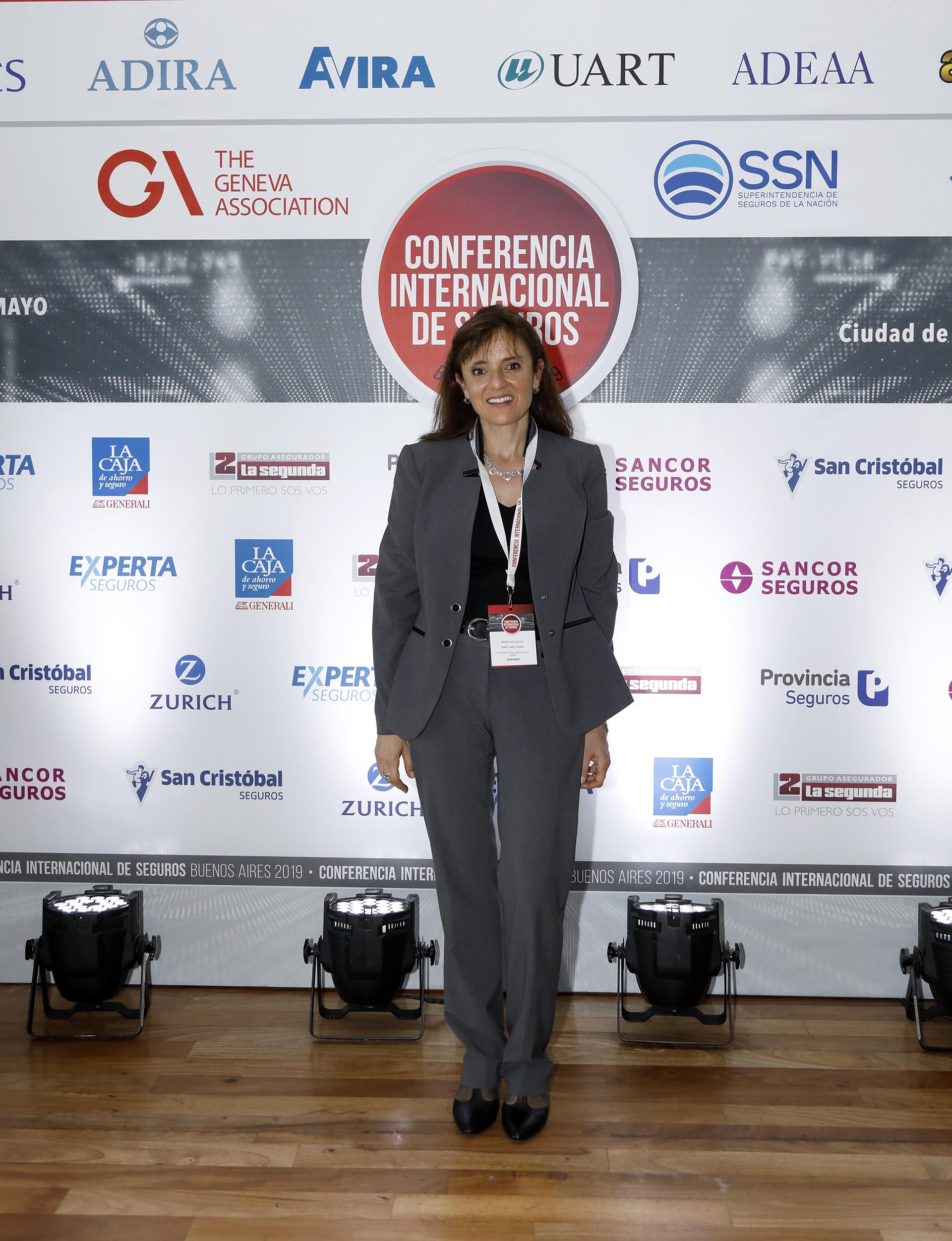 María Soledad Martínez Peria, Division Chief of the Macro-Financial Division of the Research Department del Fondo Monetario Internacional (FMI)