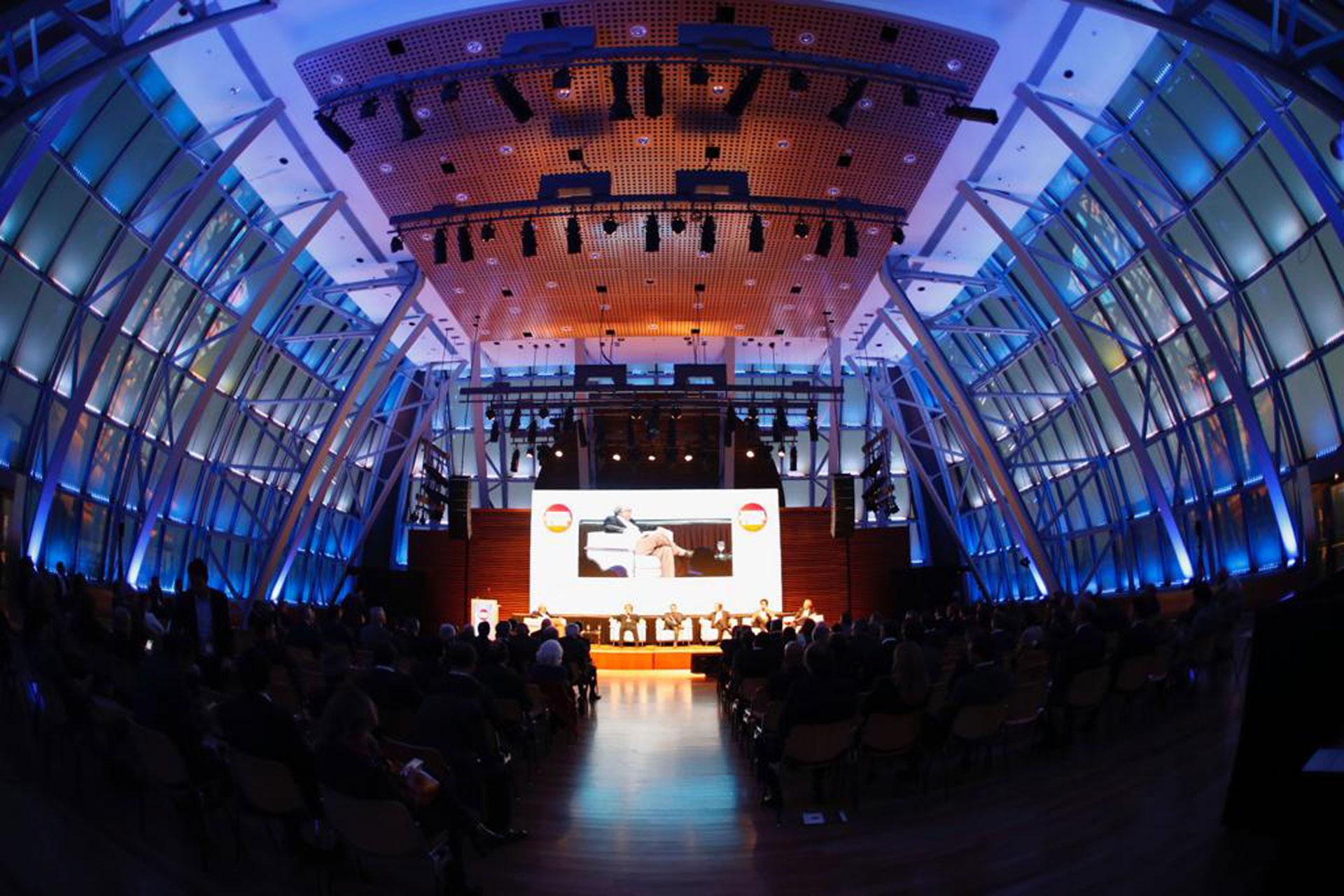 La cúpula del CCK que recibió al gran evento
