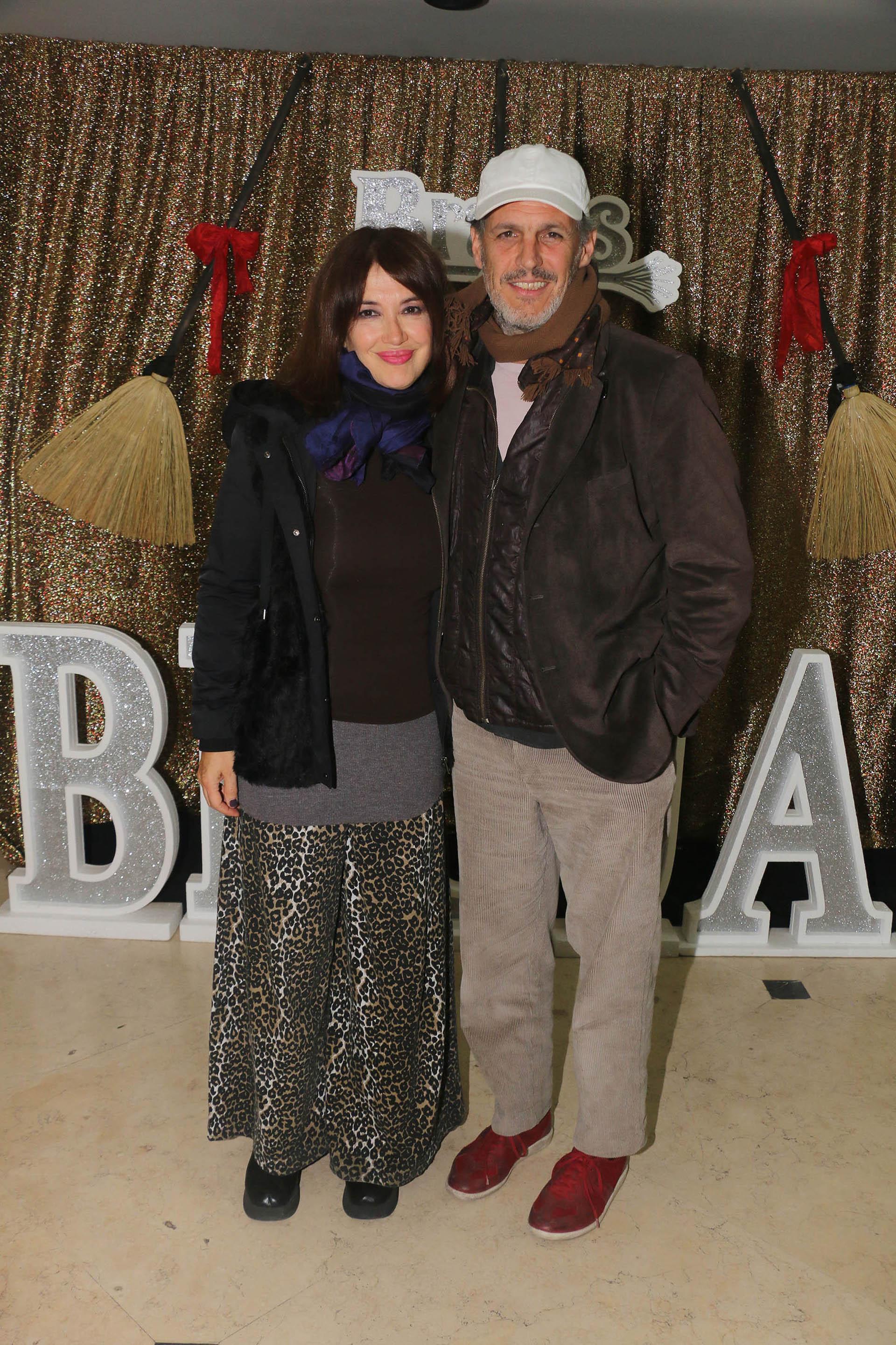 Nacho Gadano acompañó a Andrea Bonelli en el reestreno de la obra que encabeza desde que comenzó la temporada teatral de verano en Villa Carlos Paz(Verónica Guerman/ Teleshow)