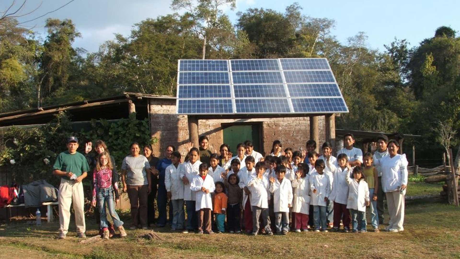Energía solar, una esperanza para las escuelas rurales argentinas - Infobae