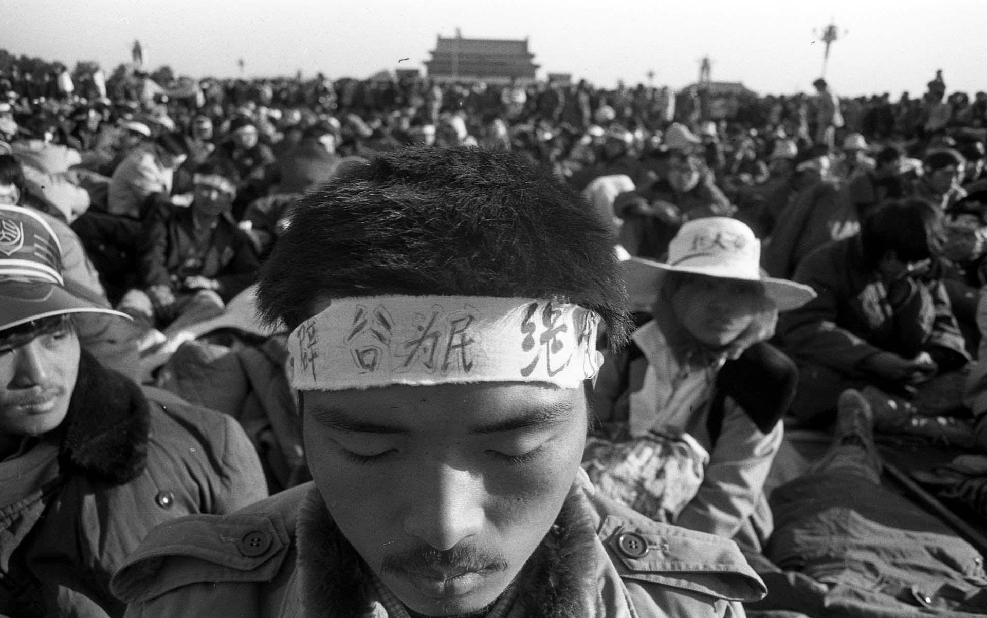 Miles de jóvenes protestaron de forma pacífica en Tiananmen durante ese año de 1989 (Jian Liu)