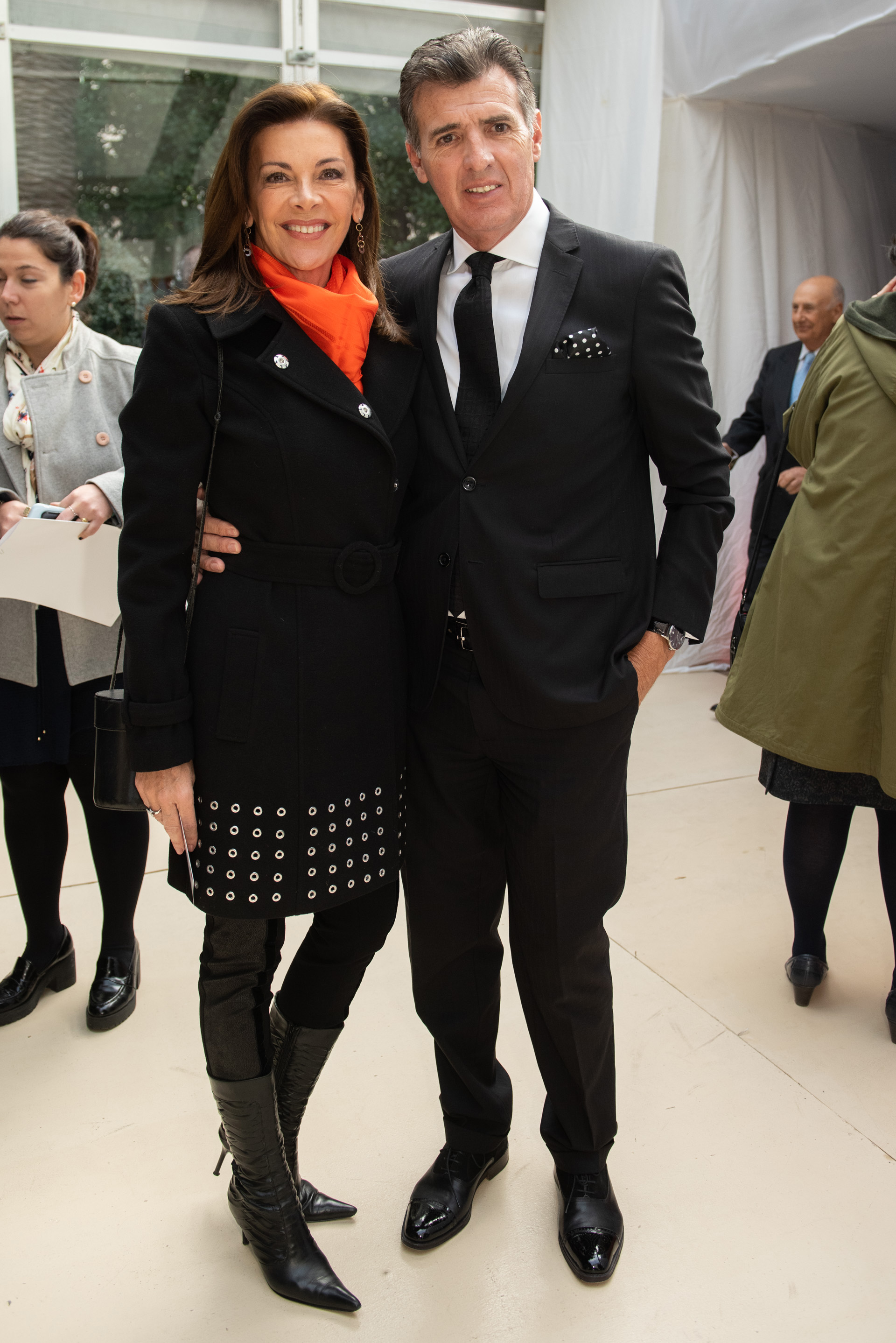 Fabiana Araujo y Alex Pérez Escoda