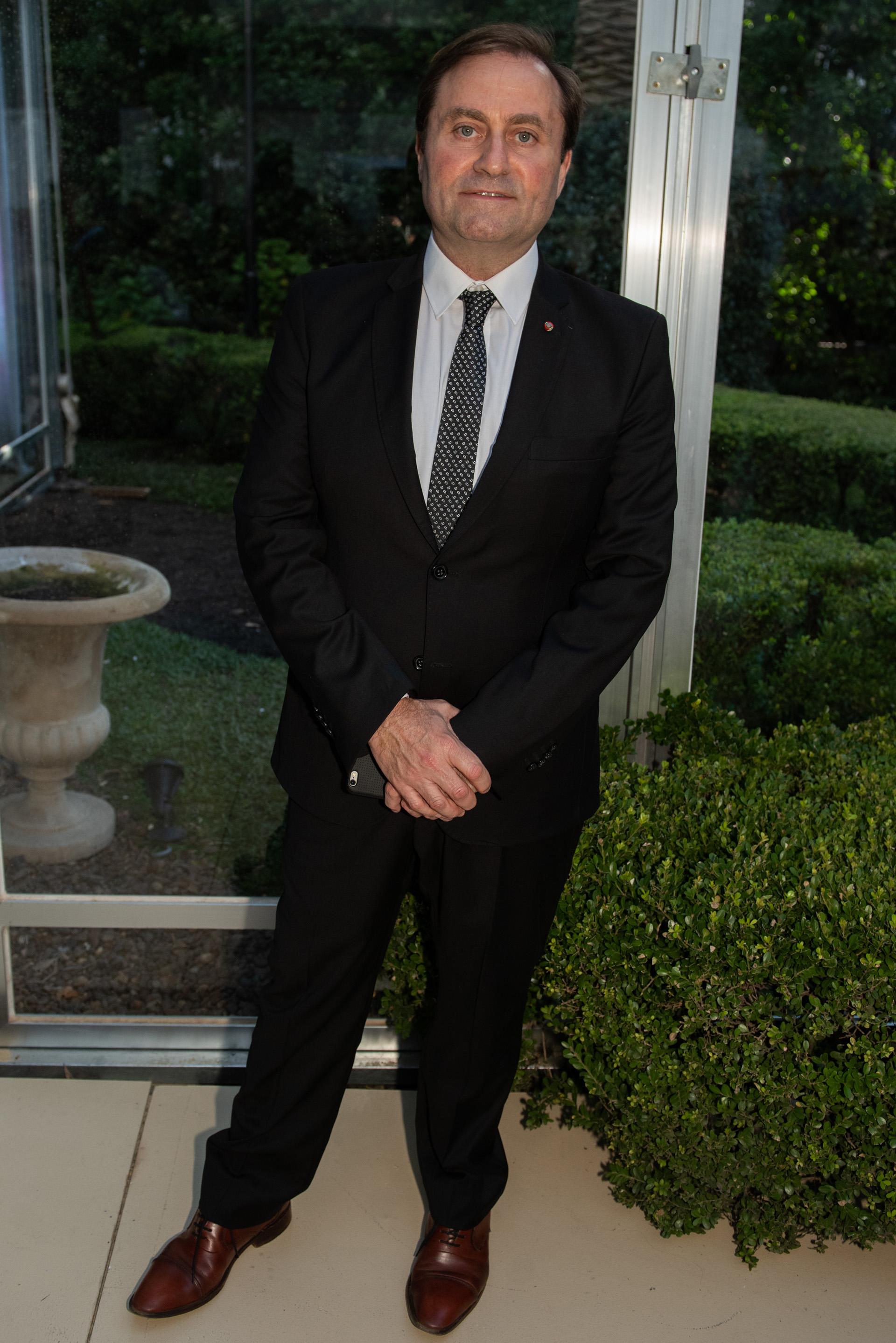 Néstor Sclauzero, gerente de Noticias de la TV Pública y presidente de FOPEA