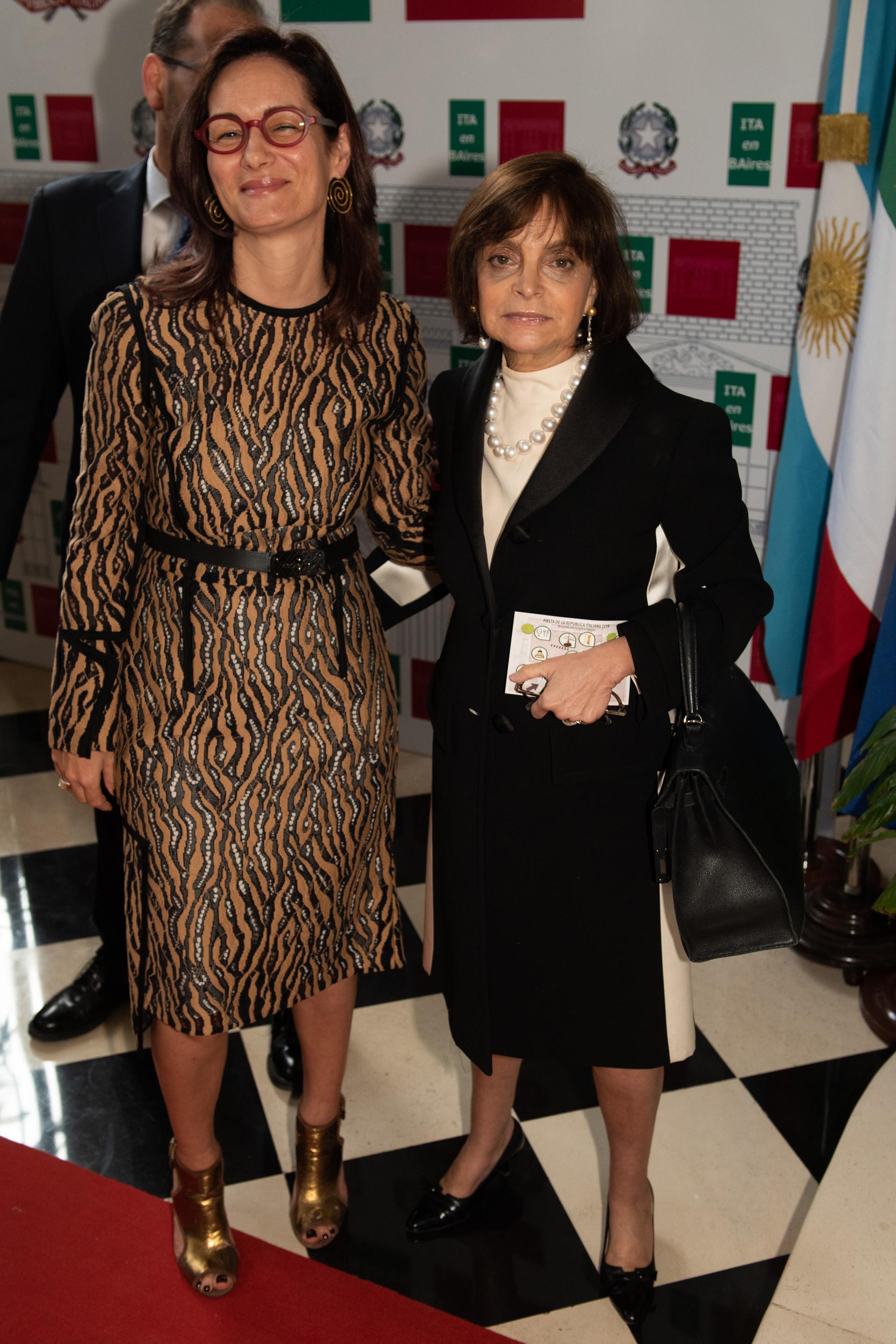 Alma Hado y Claudia Stad