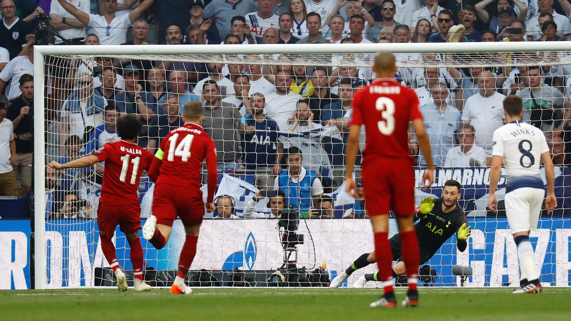 El marcador se abrió con un penal cometido a los 25 segundos de partido (REUTERS)