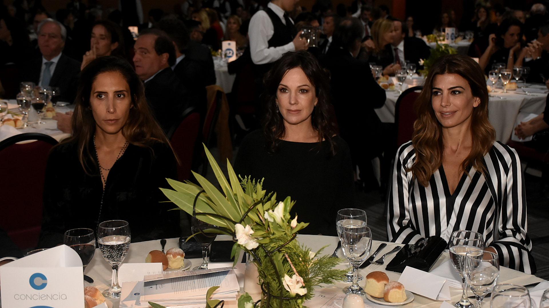 Florencia Perotti, Juliana Awada y Carolina Stanley