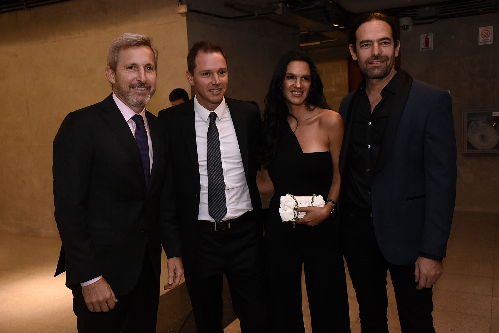 Rogelio Frigerio, Jorge Brito, Gabriela Vaca Guzman y Diego Finkelstein