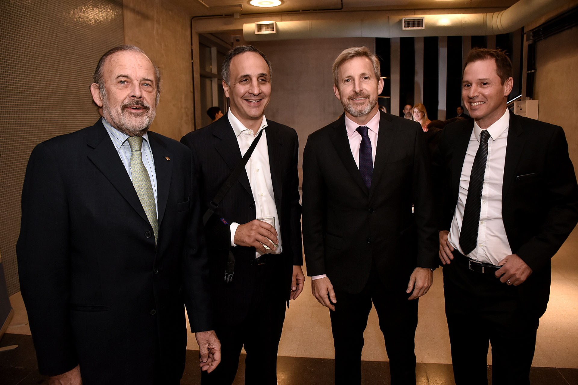 Eduardo Amadeo, Marcos Bulgheroni, Rogelio Frigerio y Jorge Brito